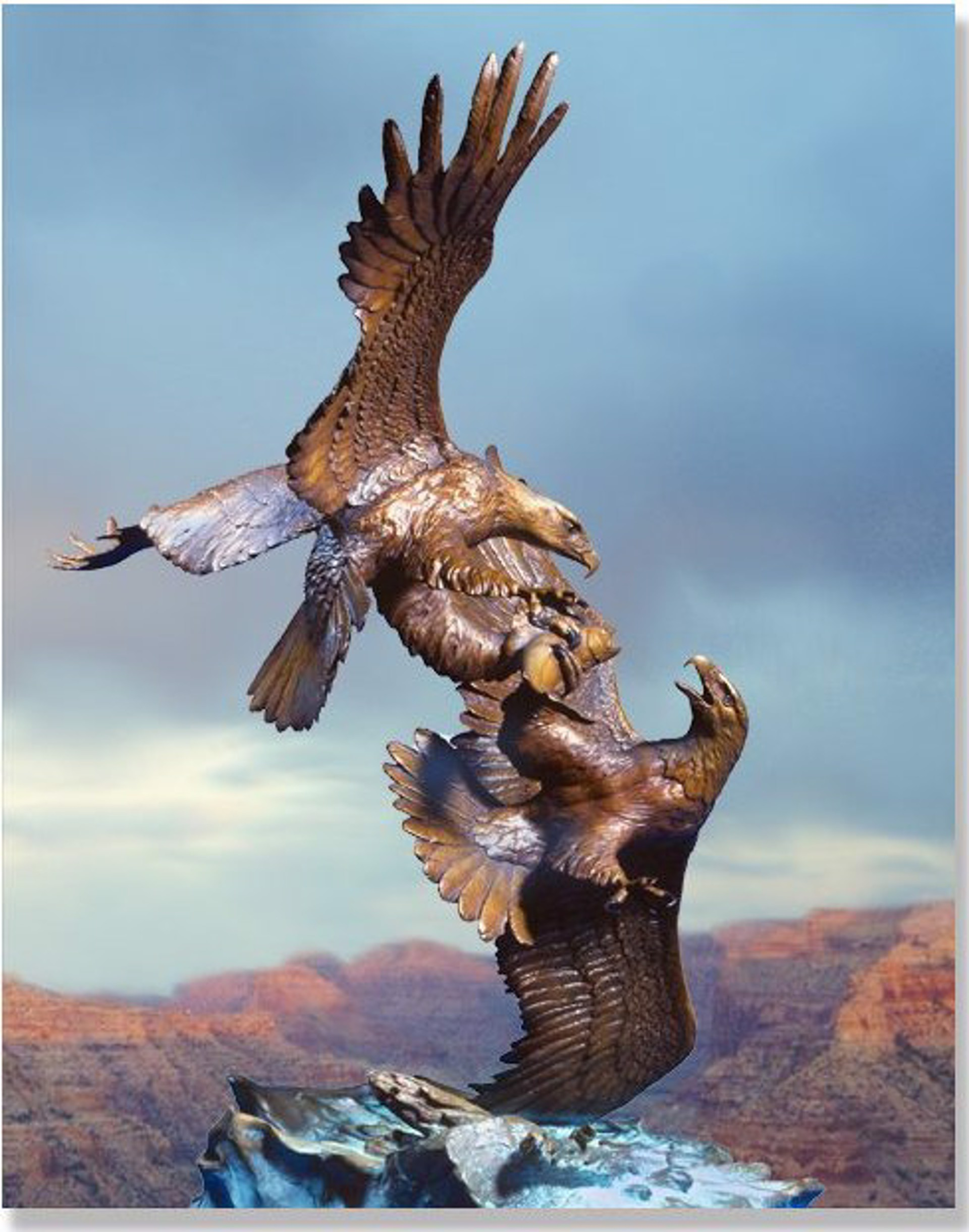 Eagle's Conquest (Small) by Clark Bronson