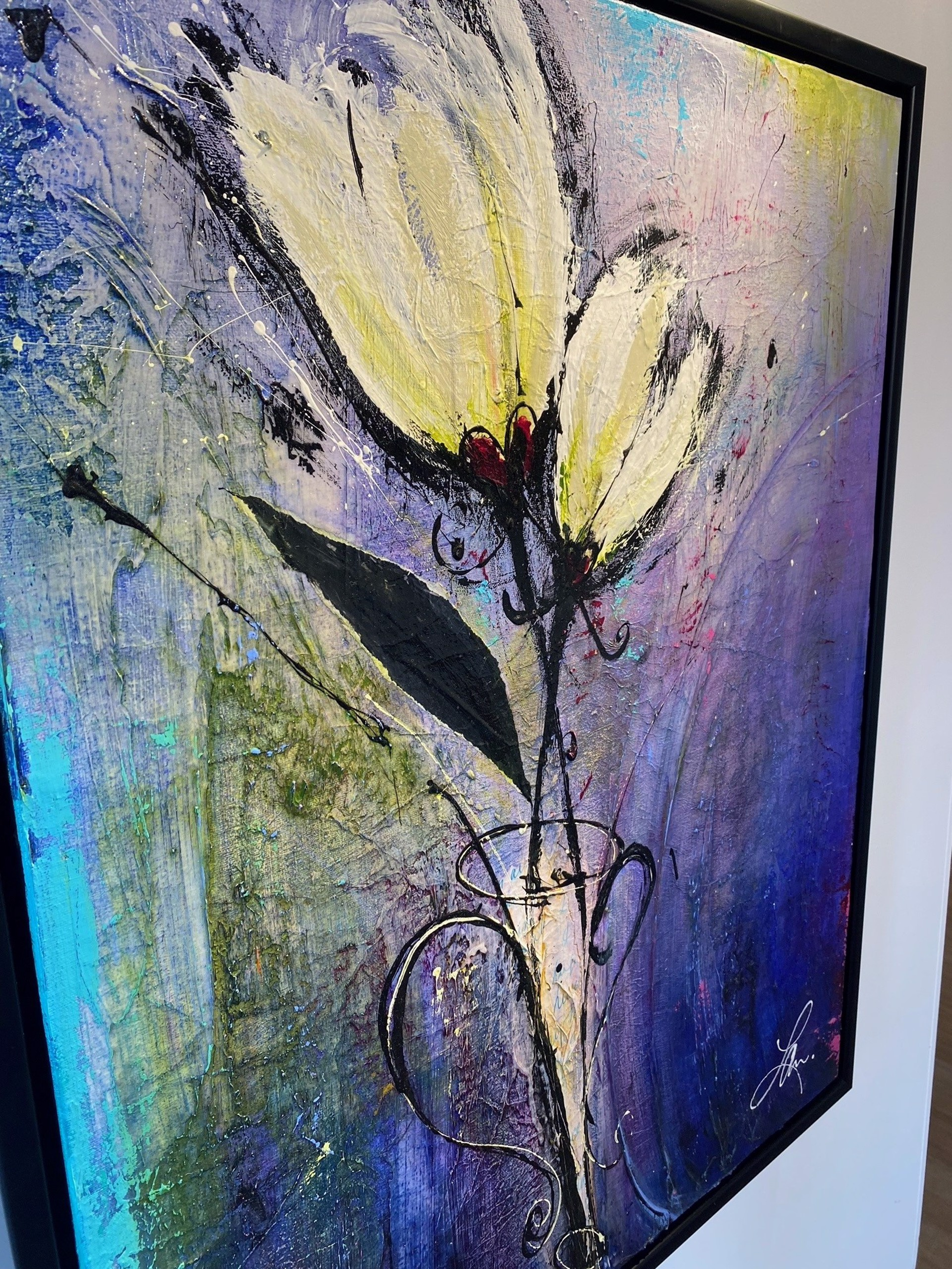 Laura Harris - Saphires and Fireflies  by Historical Art