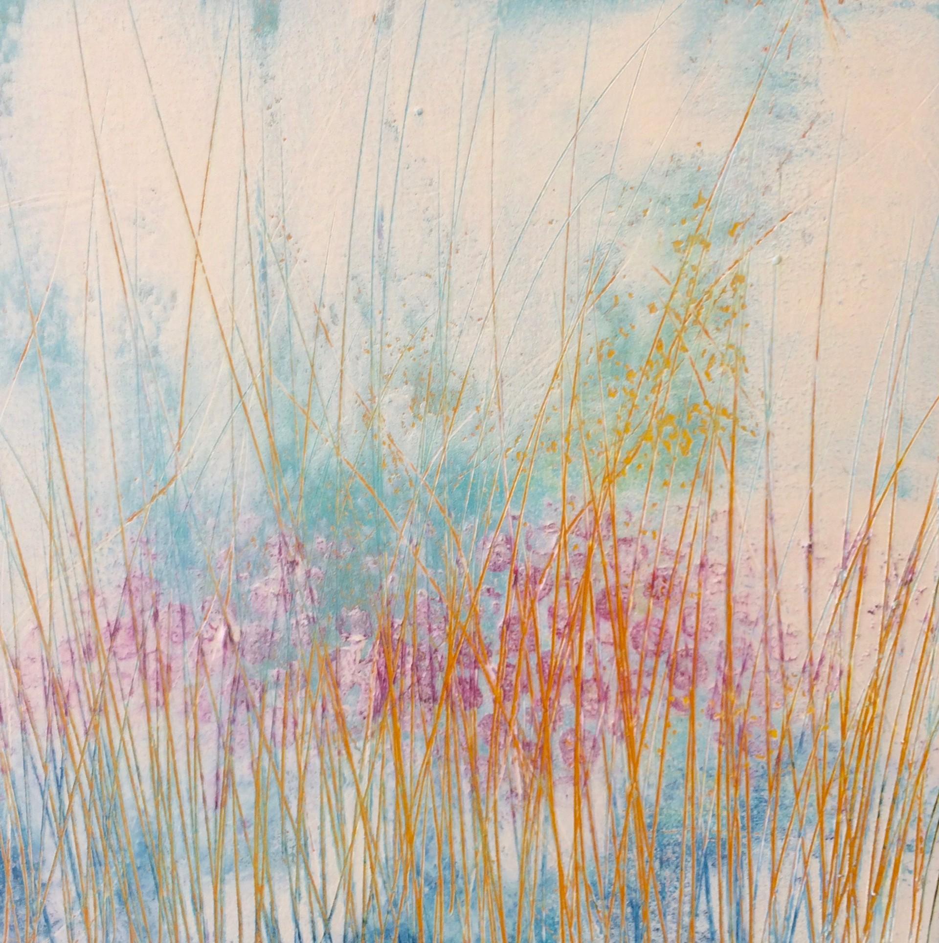 Blooms & Grasses #3 by Lori Elliott-Bartle
