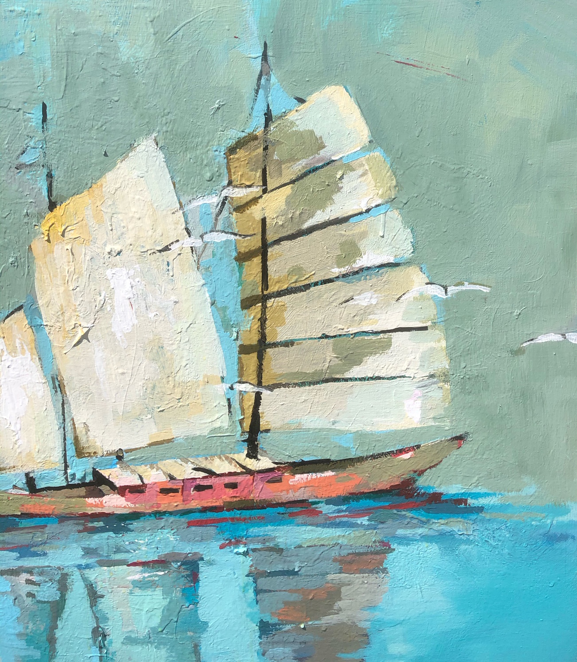 Sailing Away by Gary Bodner