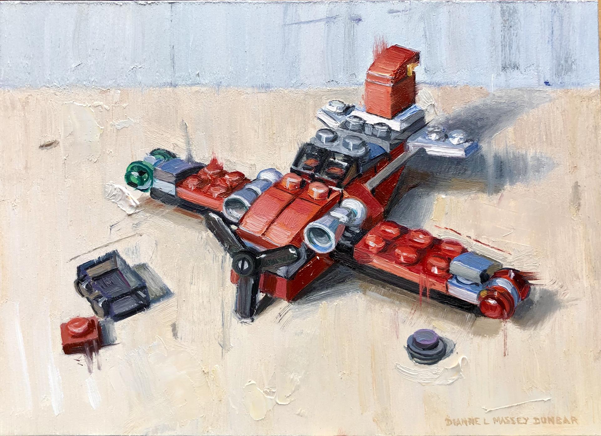Red Plane by Dianne L Massey Dunbar
