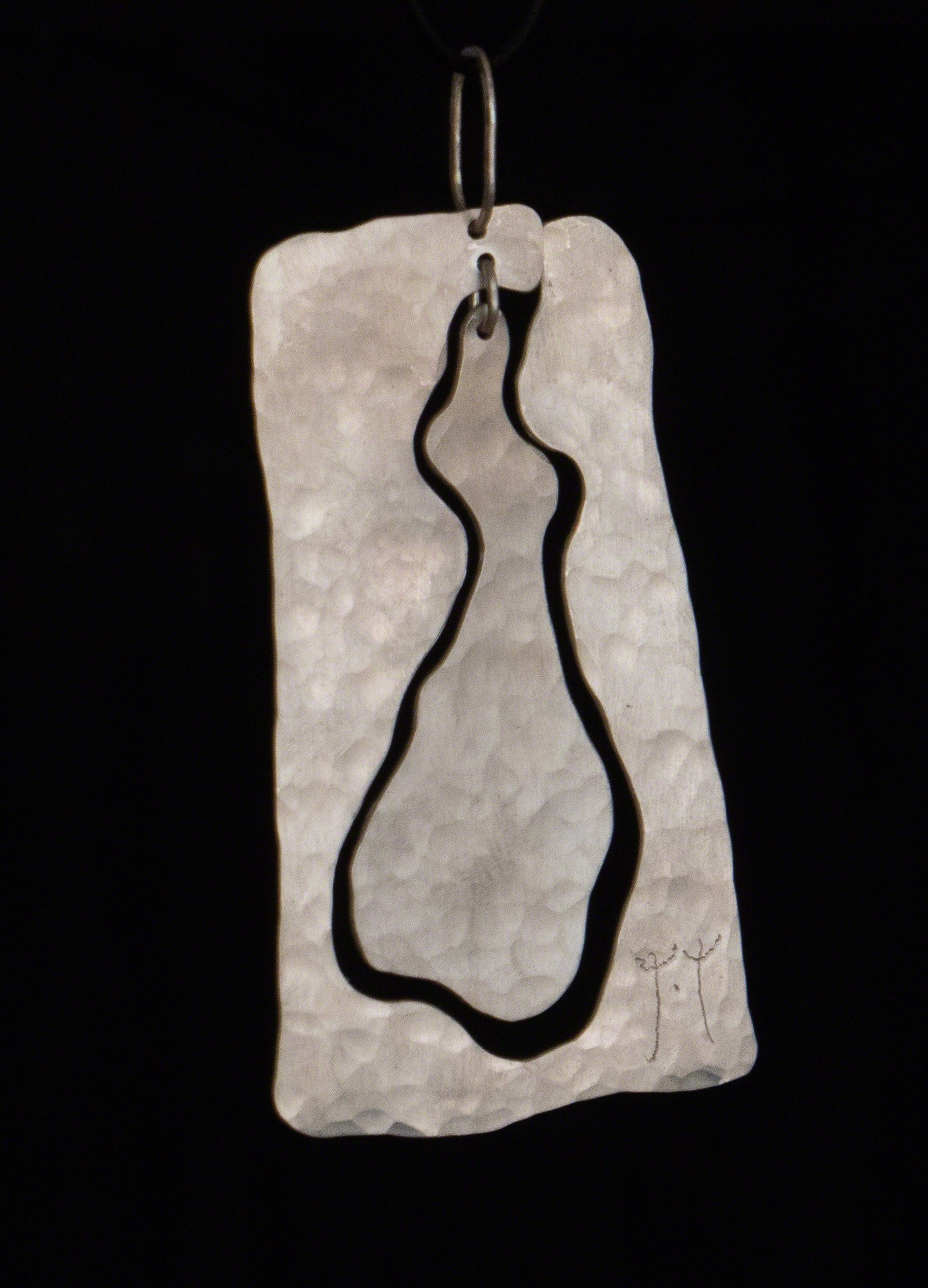 """Figure #2"" Pendant by Jacques Jarrige"