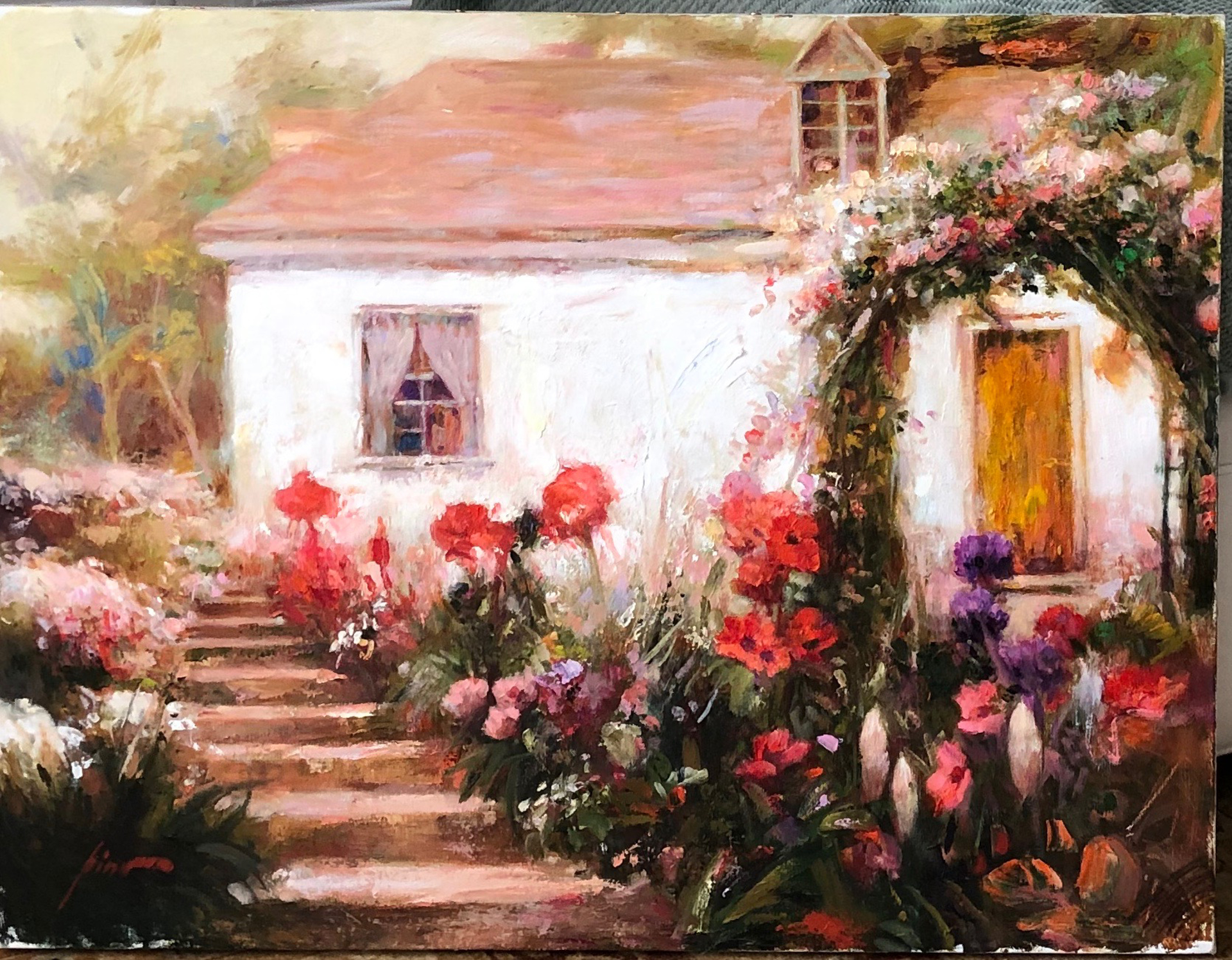 Country Garden by Pino