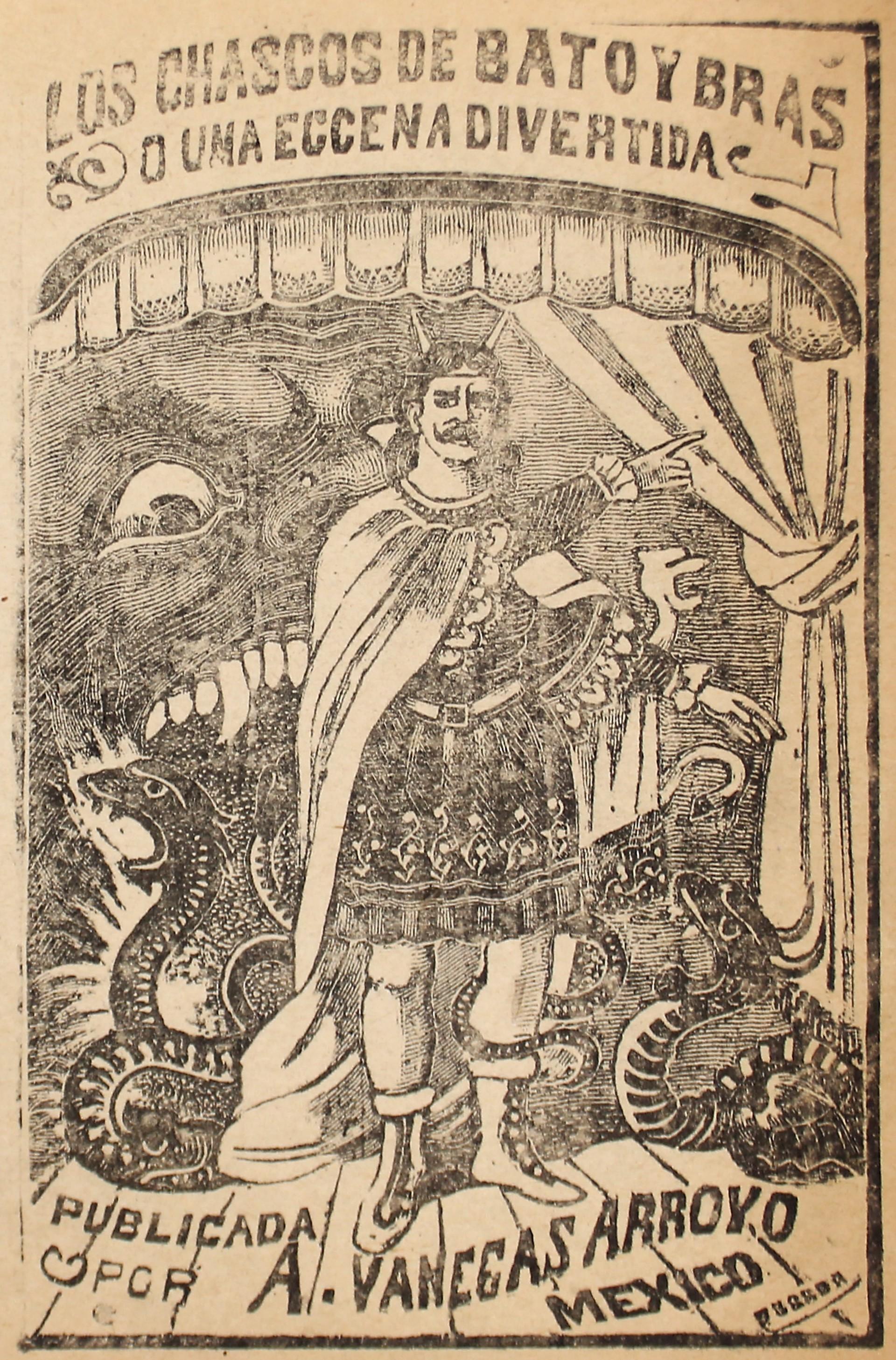 Los Chascos de Bato y Bras, o una escena divertida by José Guadalupe Posada (1852 - 1913)