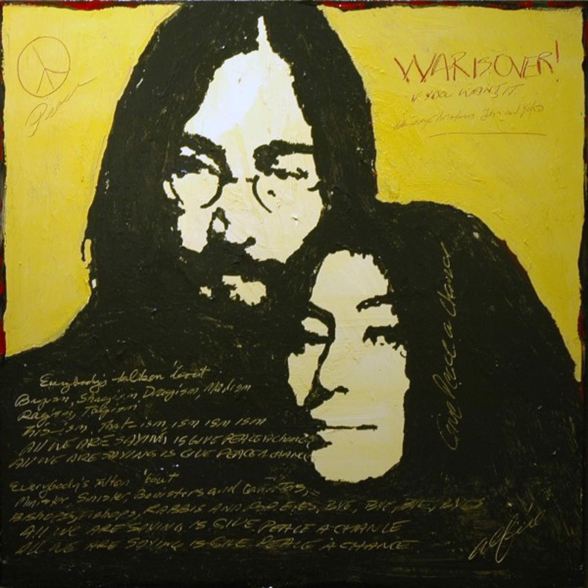 John & Yoko by Alfie Fernandes