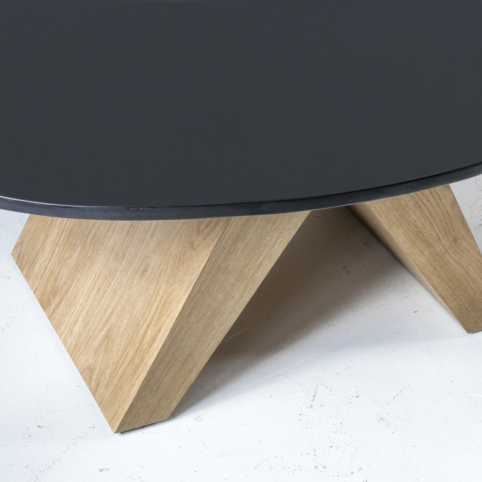 Coffee table  with bronze  by Tinatin Kilaberidze