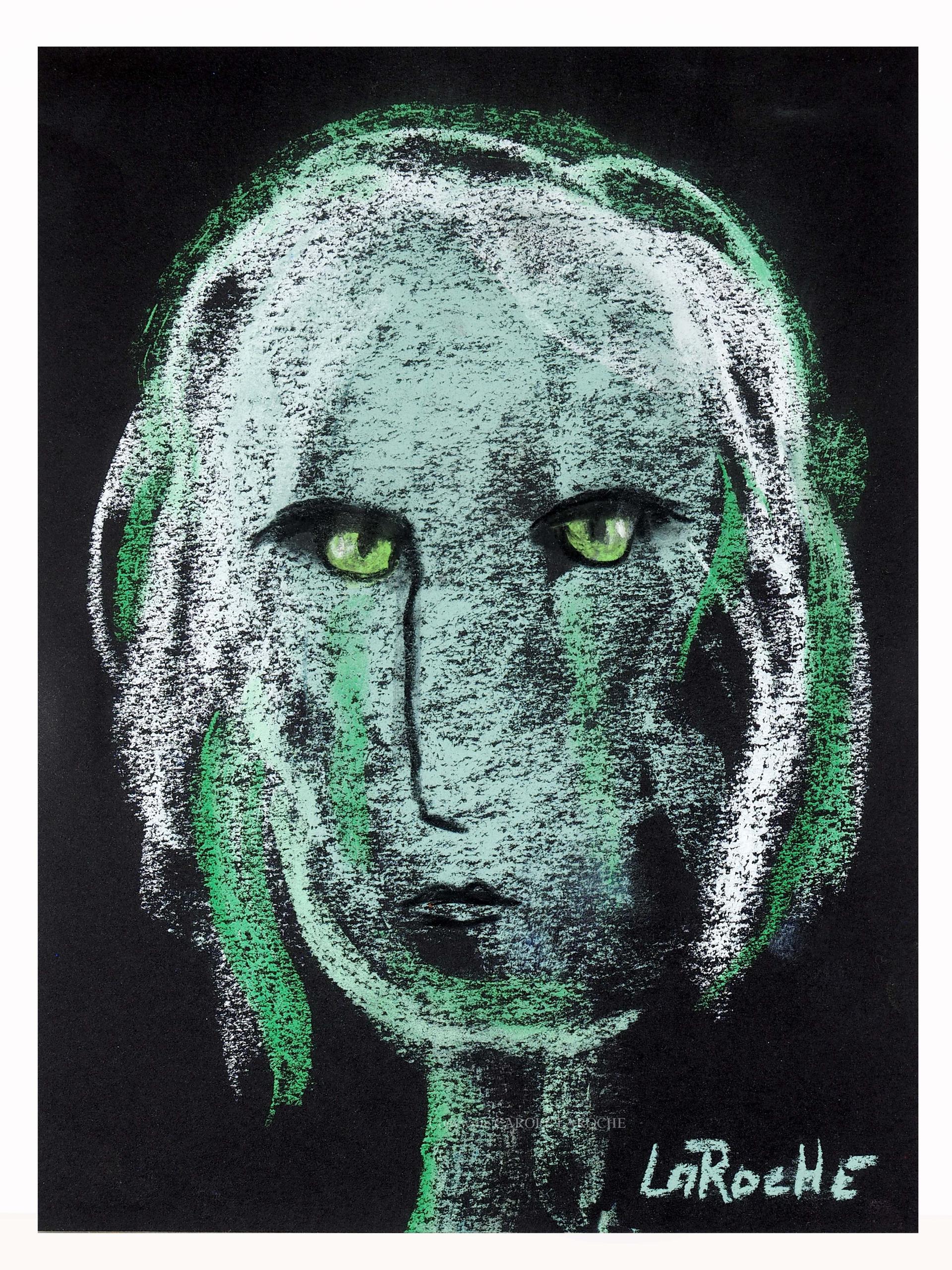 GREEN EYED MESSENGER by Carole LaRoche