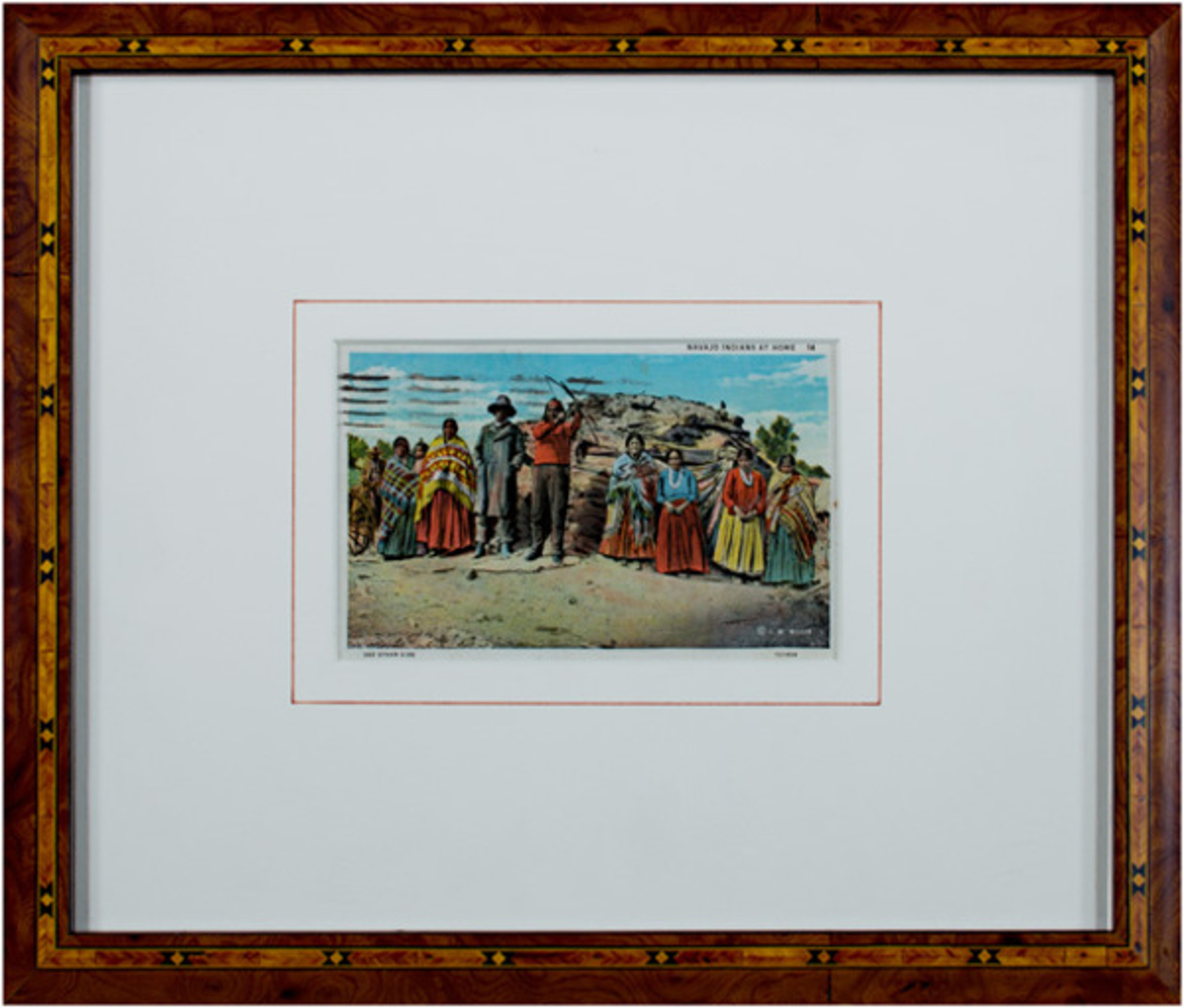 Navajo People At Home by Joseph Roy Willis