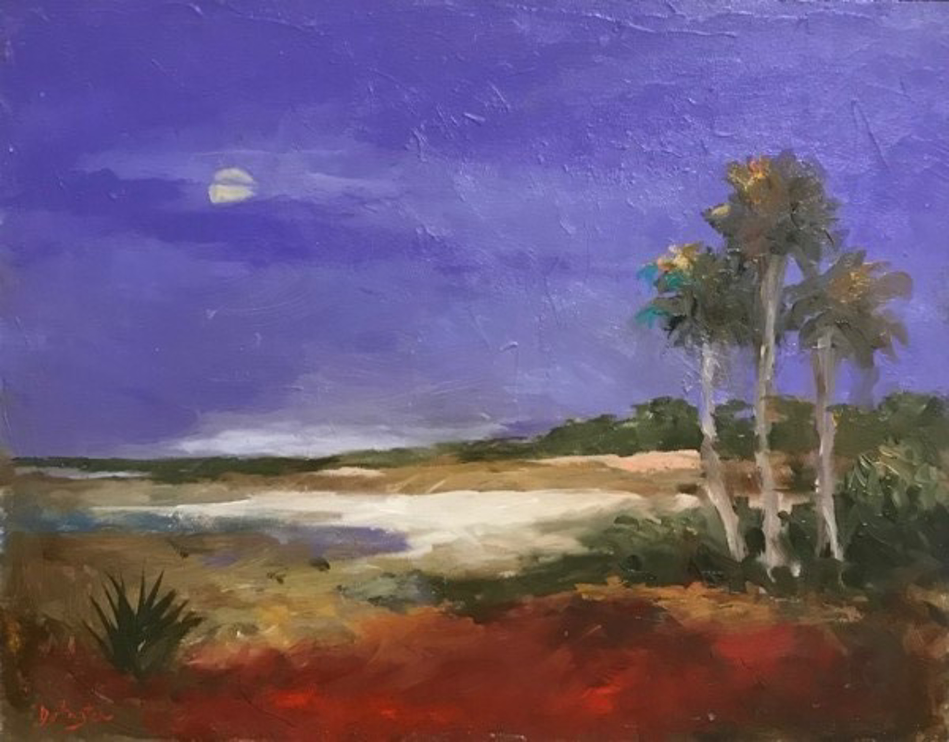 Capers Island Series #8- Violet Evening by Jim Darlington