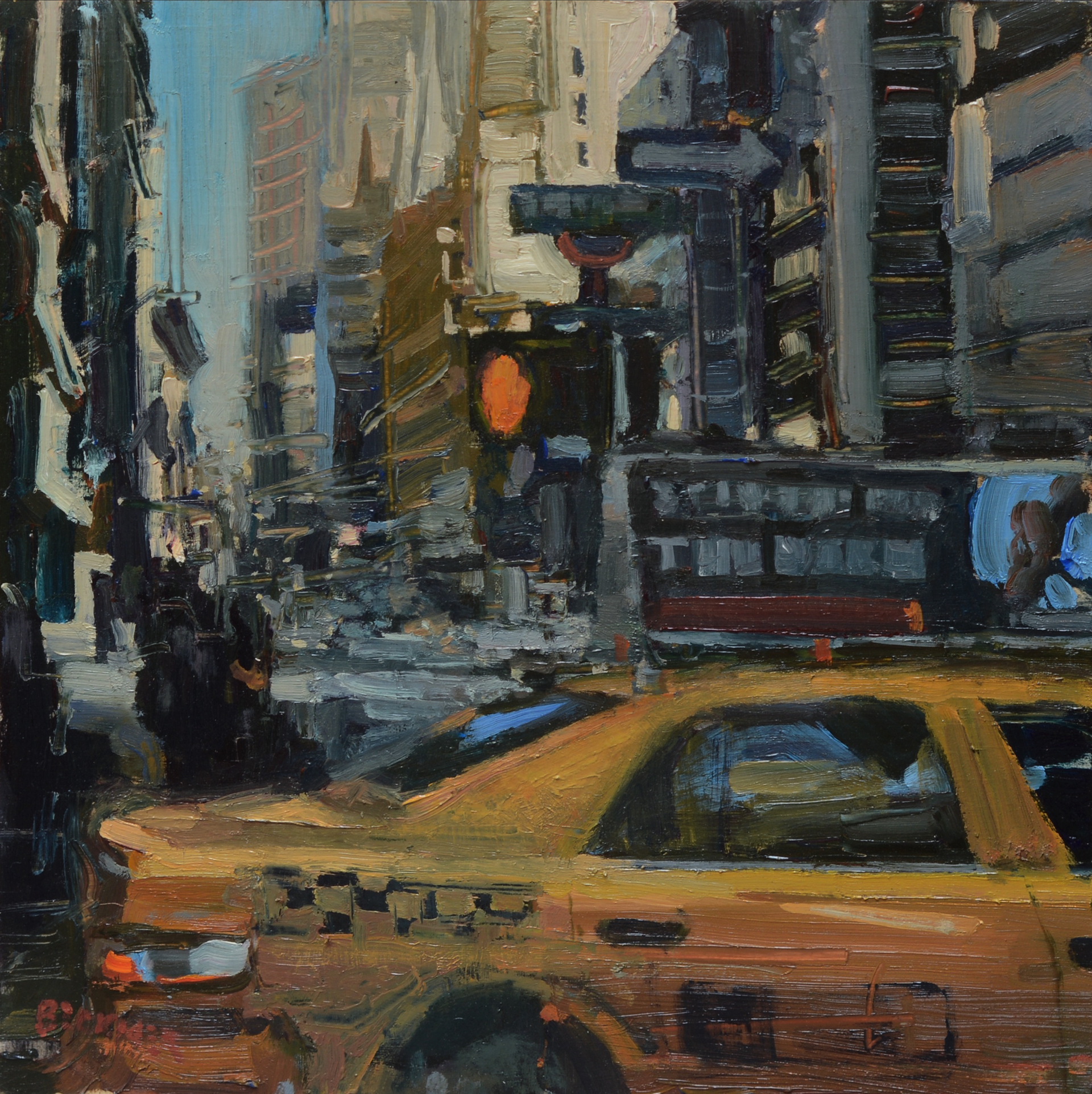 Taxi by Jim Beckner