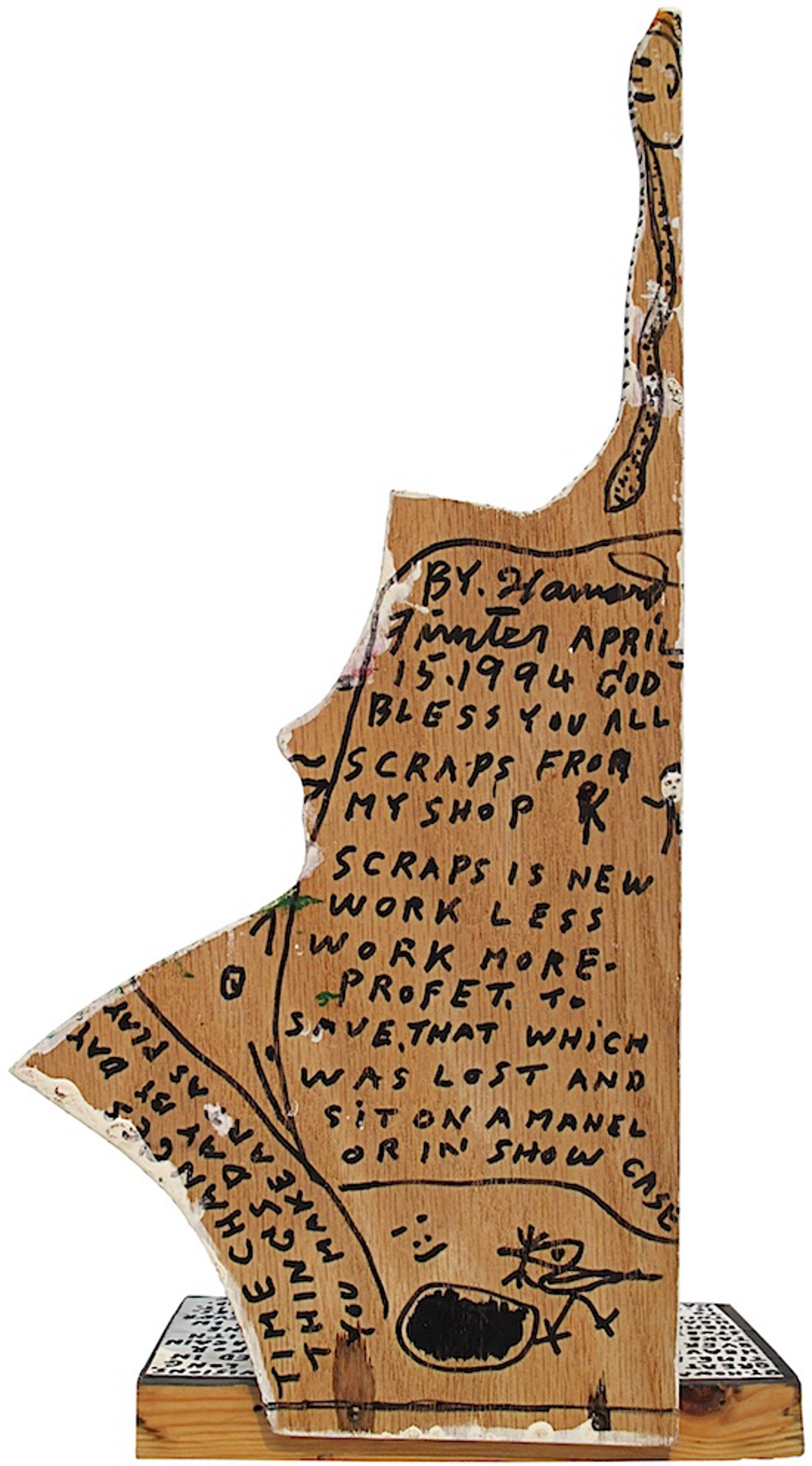 Scrap Wood by Howard Finster