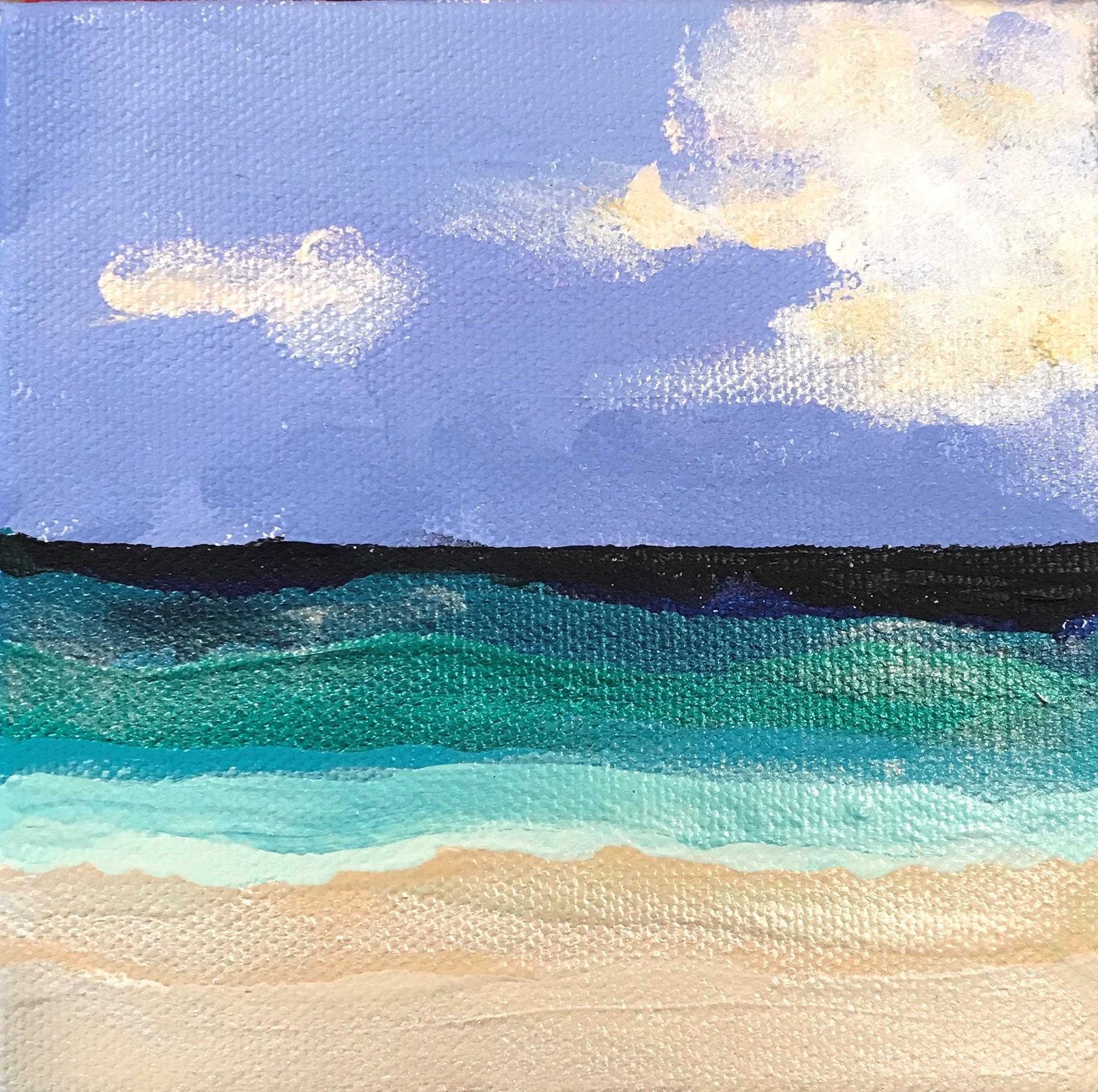 Beachfront No. 9 by Leslie Poteet Busker