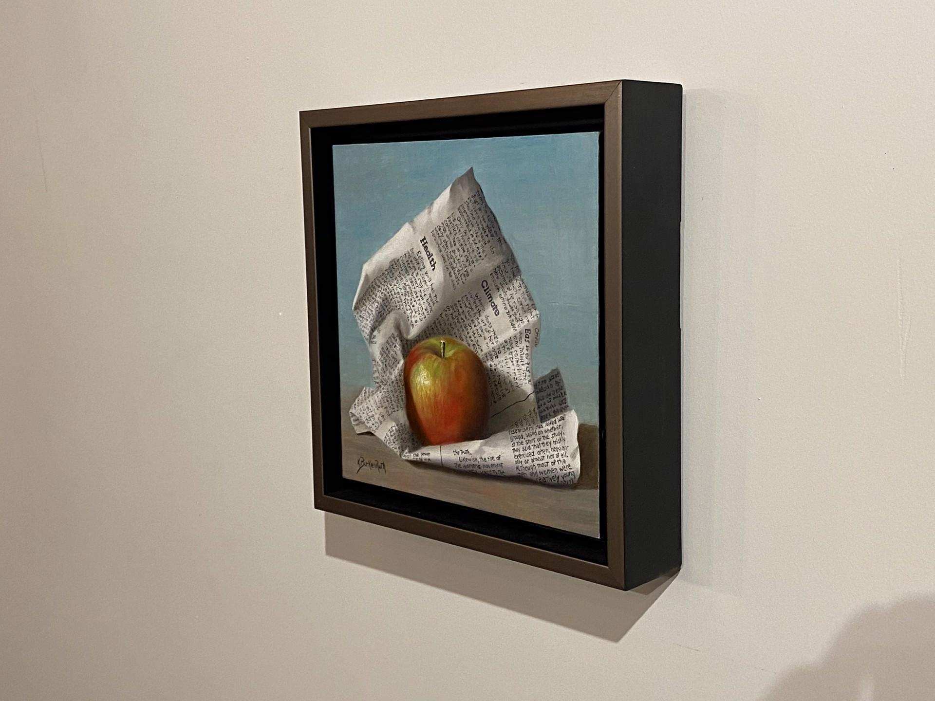 Wrapped Apple by Kelly Birkenruth