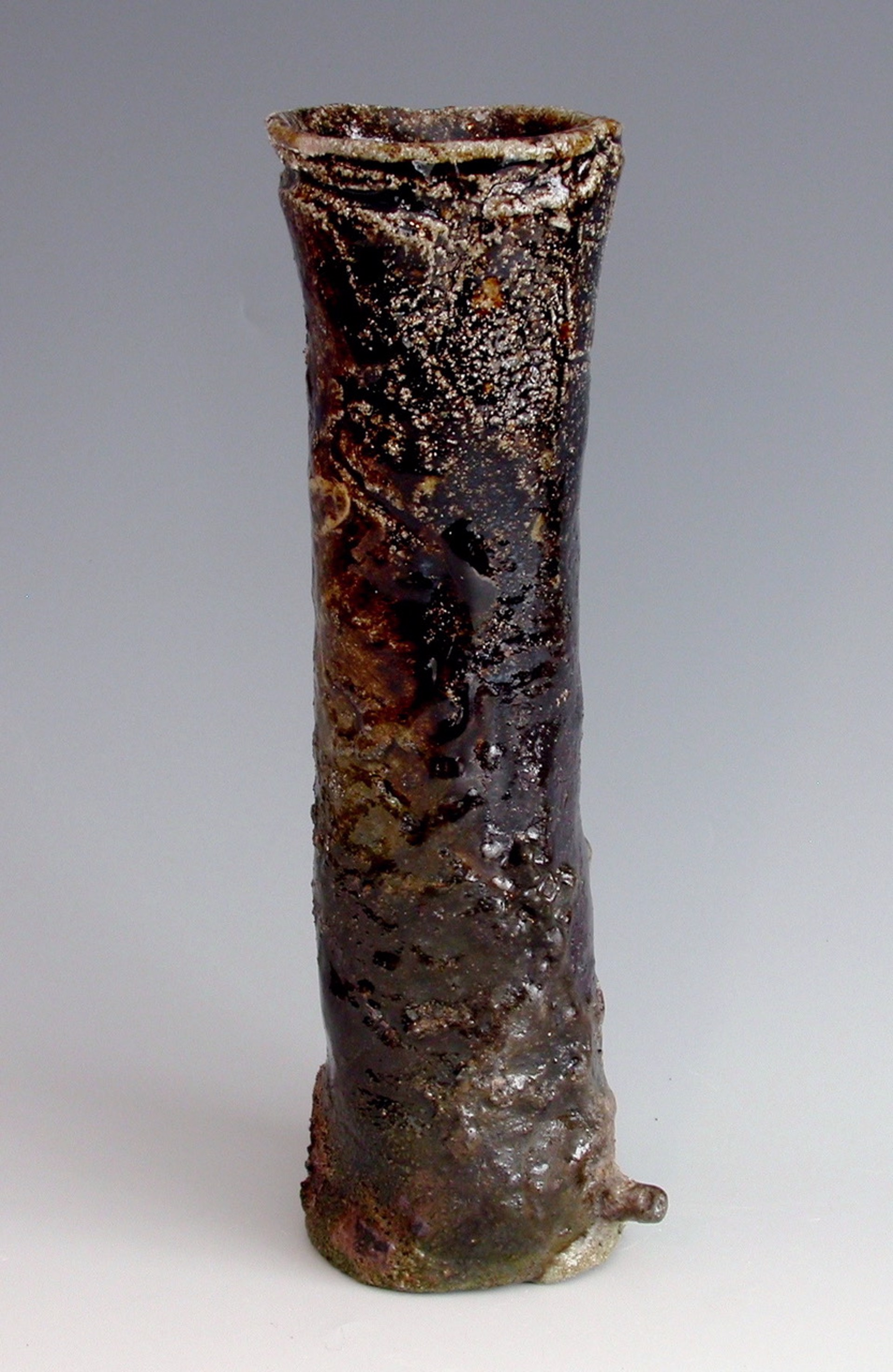 Wood fired Vessel 4 by Kristin Müller