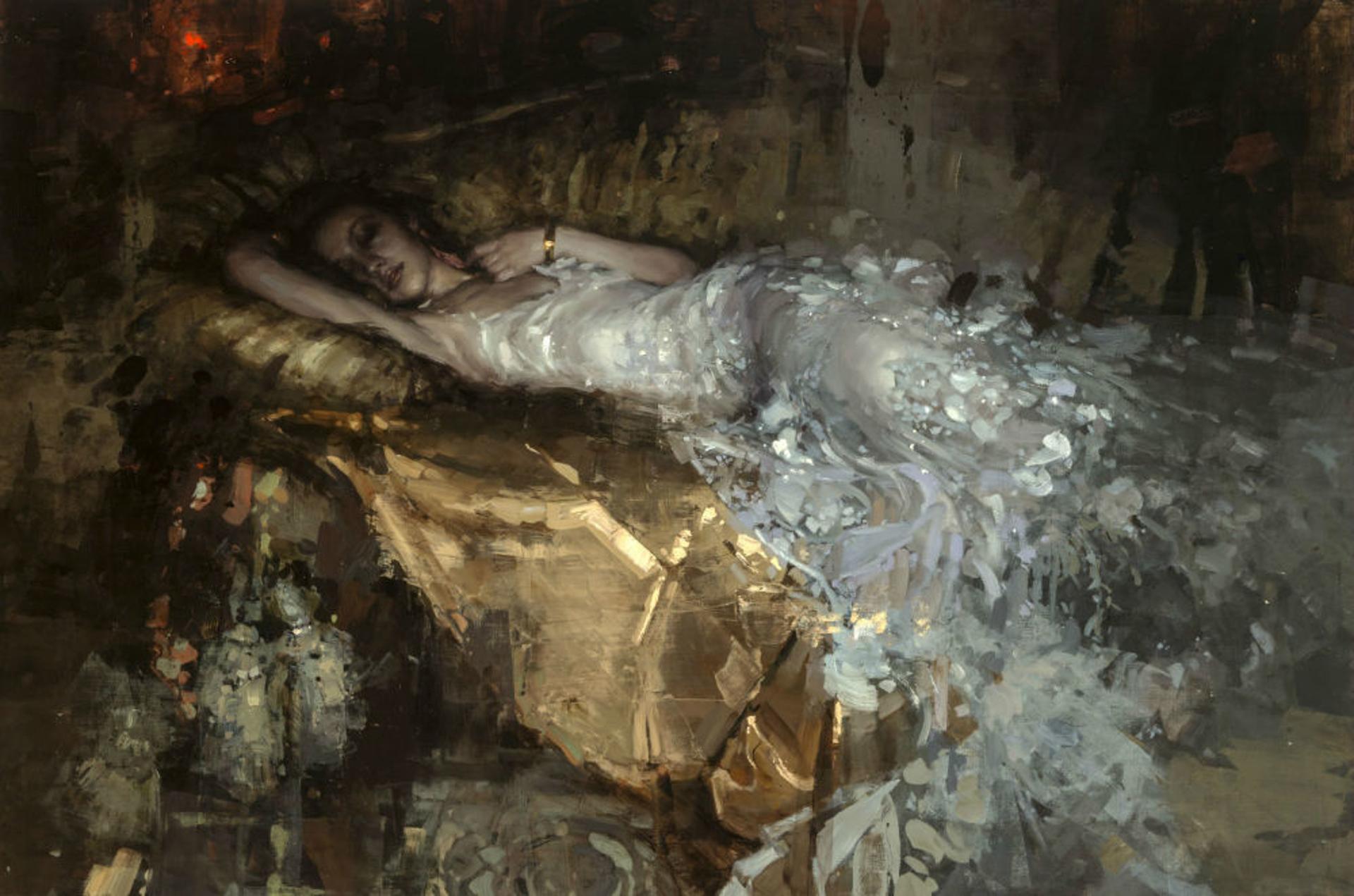 Nocturnal Levette by Jeremy Mann
