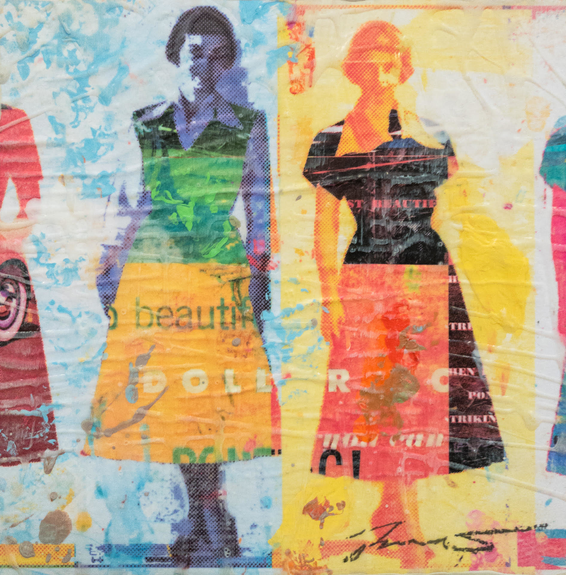 Dress Paper V by Jon Davenport