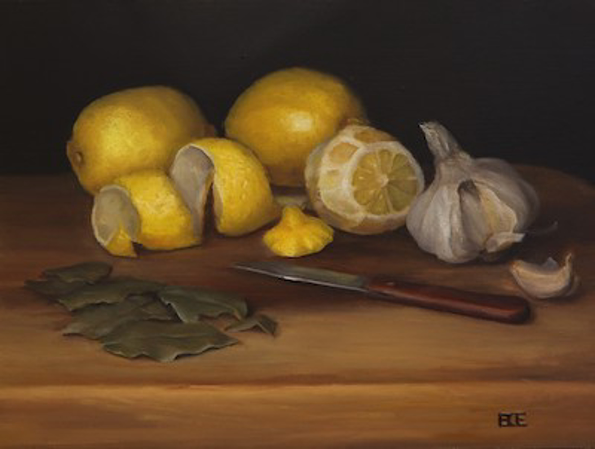 Lemon Marinade by Barbara Efchak