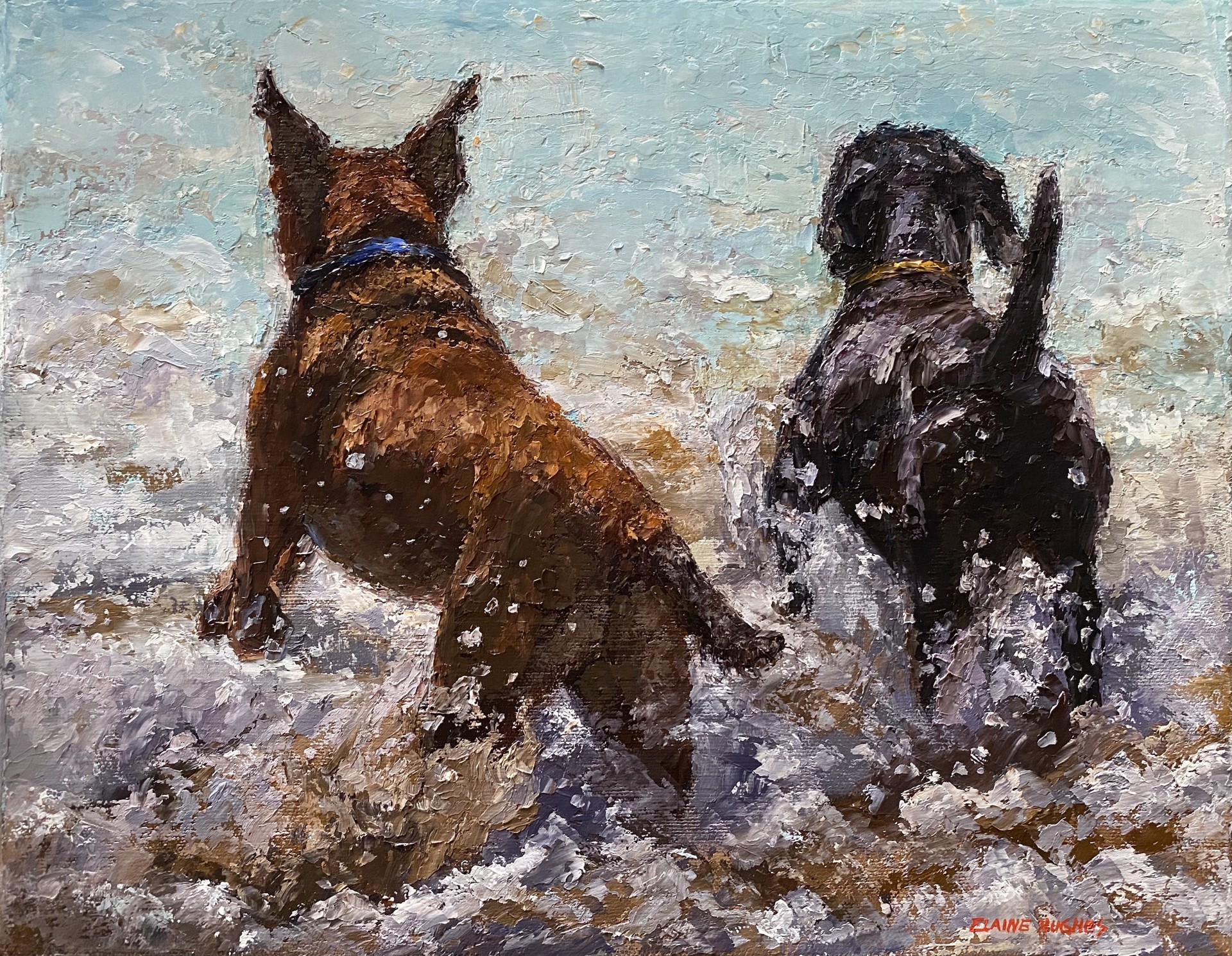 Exuberance by Elaine Hughes