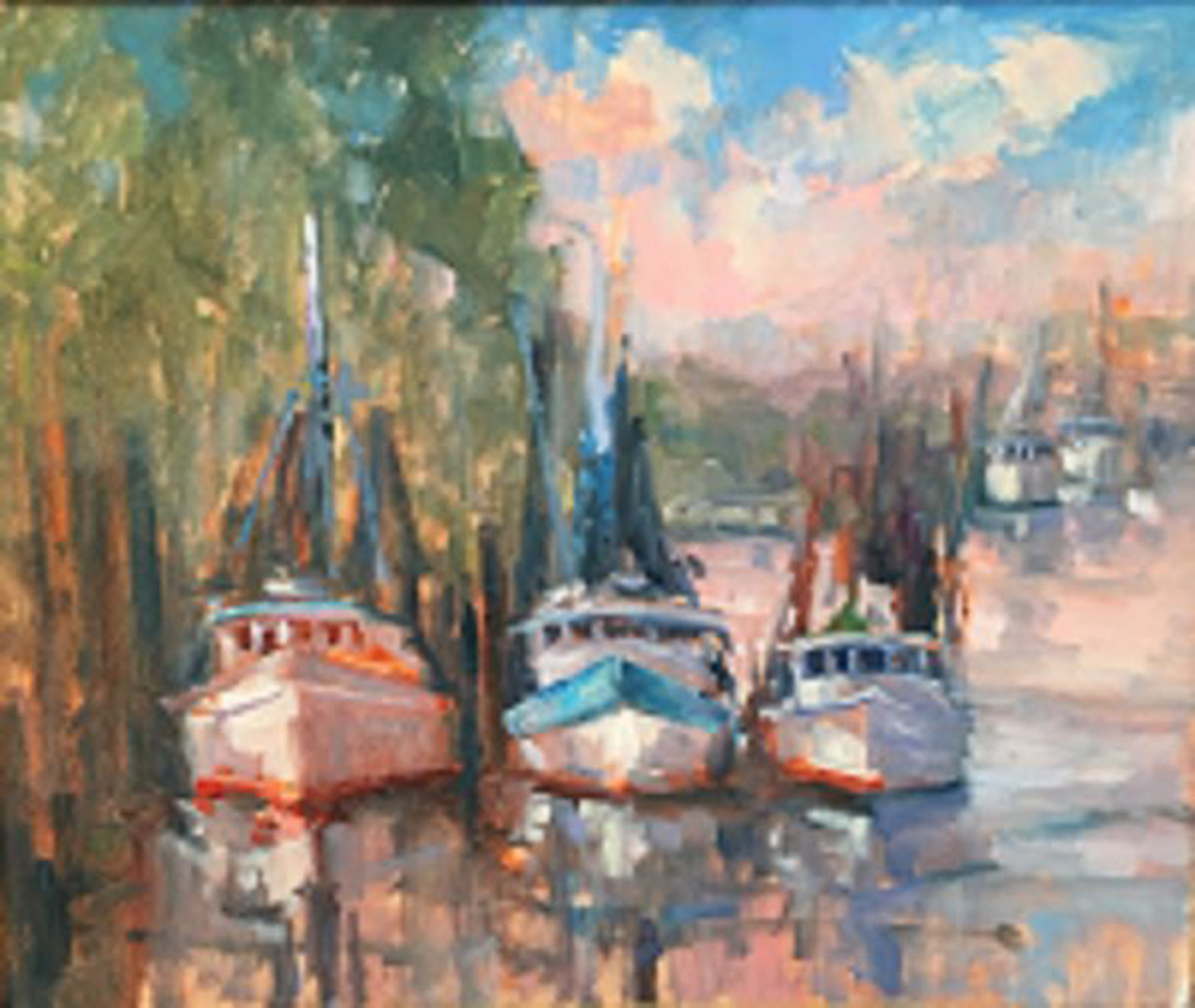 Southern Trawlers by Karen Hewitt Hagan