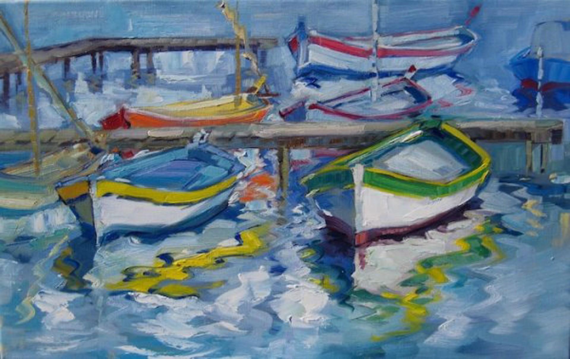 Le Brusc Lagoon by Maria Bertrán