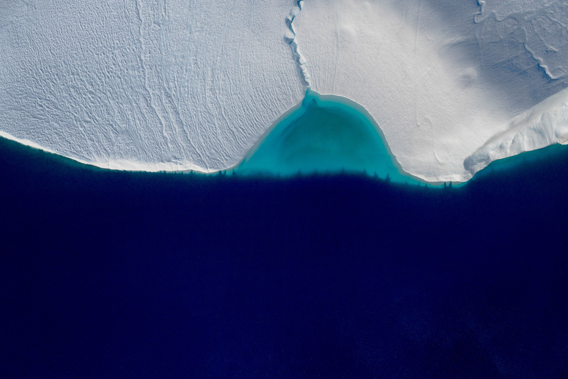 Breakwater, Ilulissat Icefjord, Greenland Ed. 1/10 by Dinesh Boaz