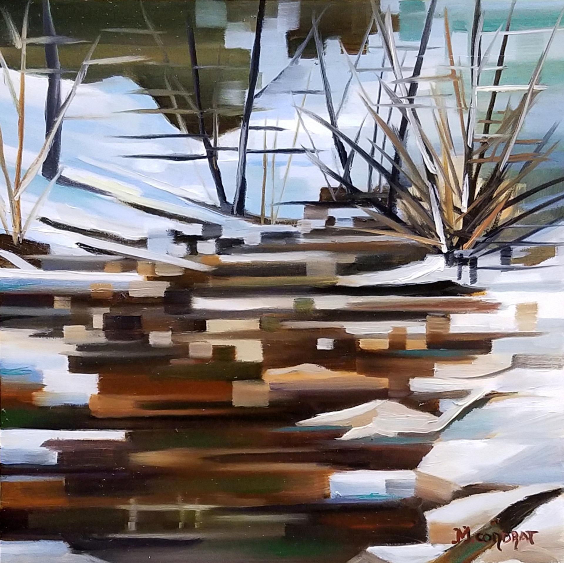 Winter Stream by Michelle Condrat