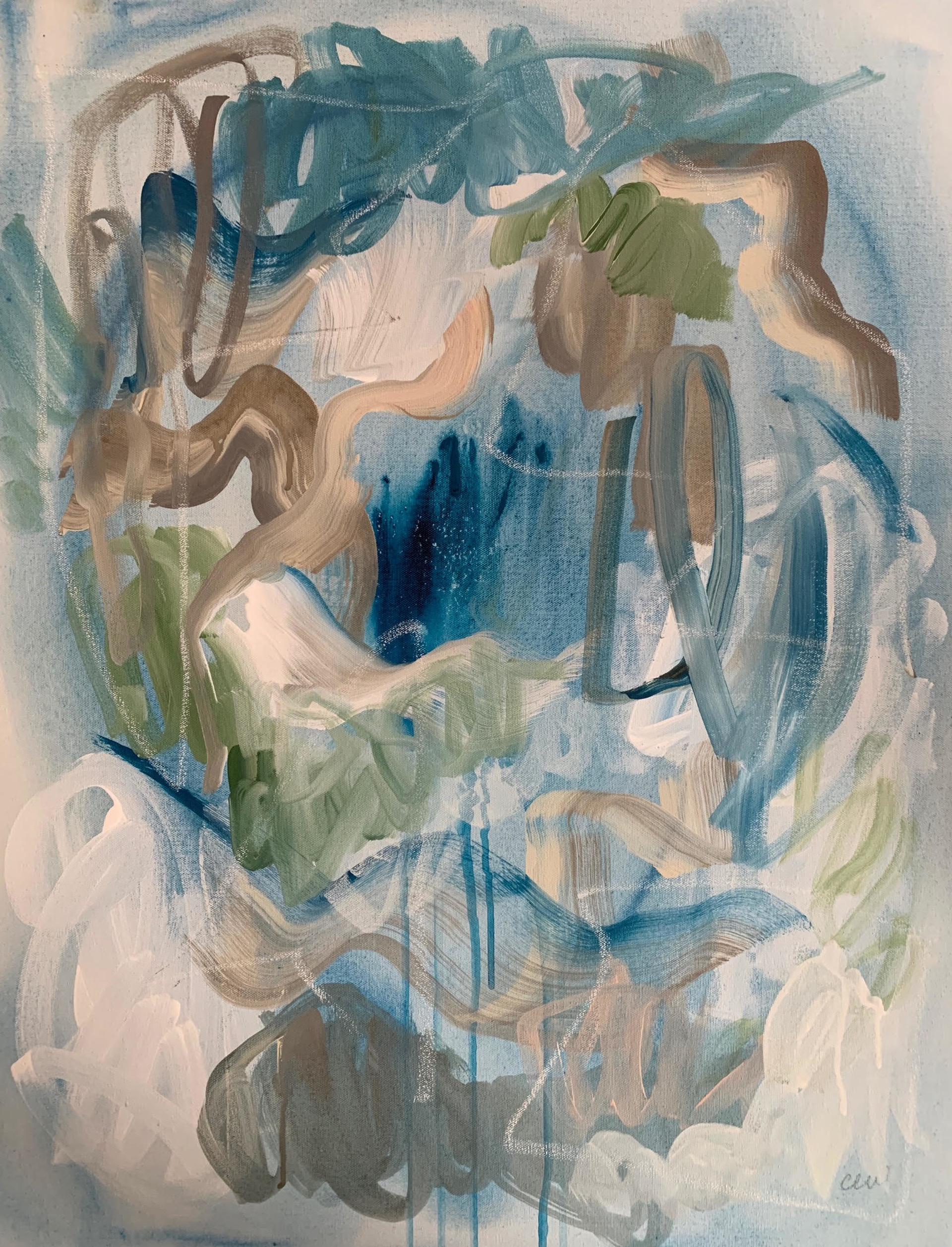 Trail Creek II by Catherine Whitis