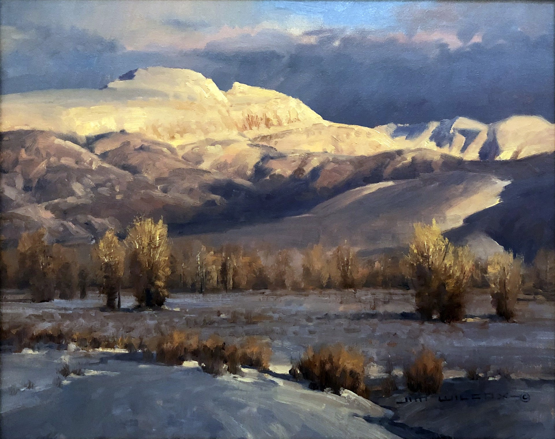 Sleeping Indian Winter by Jim Wilcox