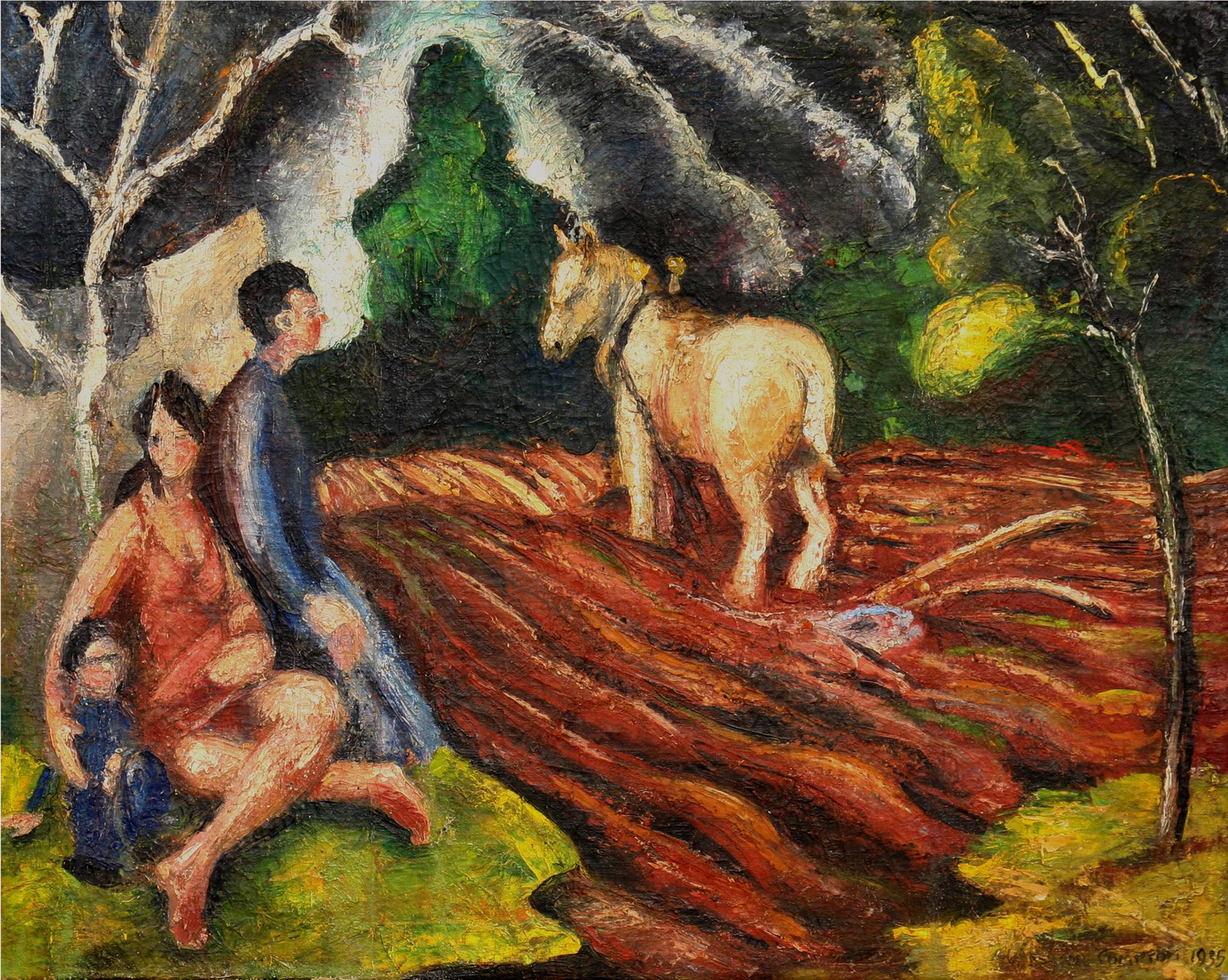 White Mule by Carl Benton Compton