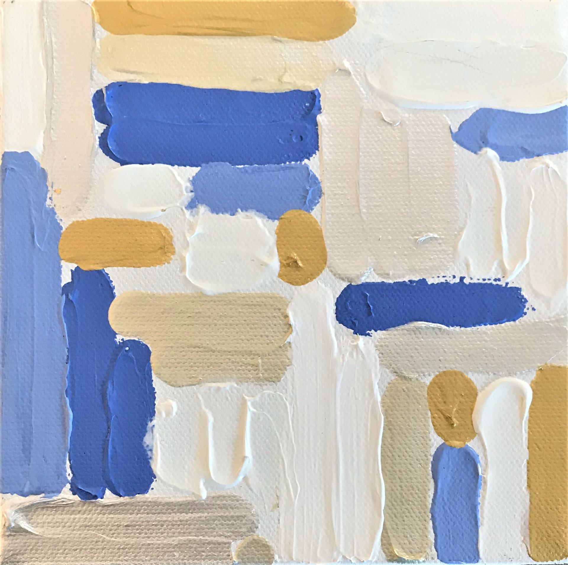 Blue Fields  by Leslie Poteet Busker