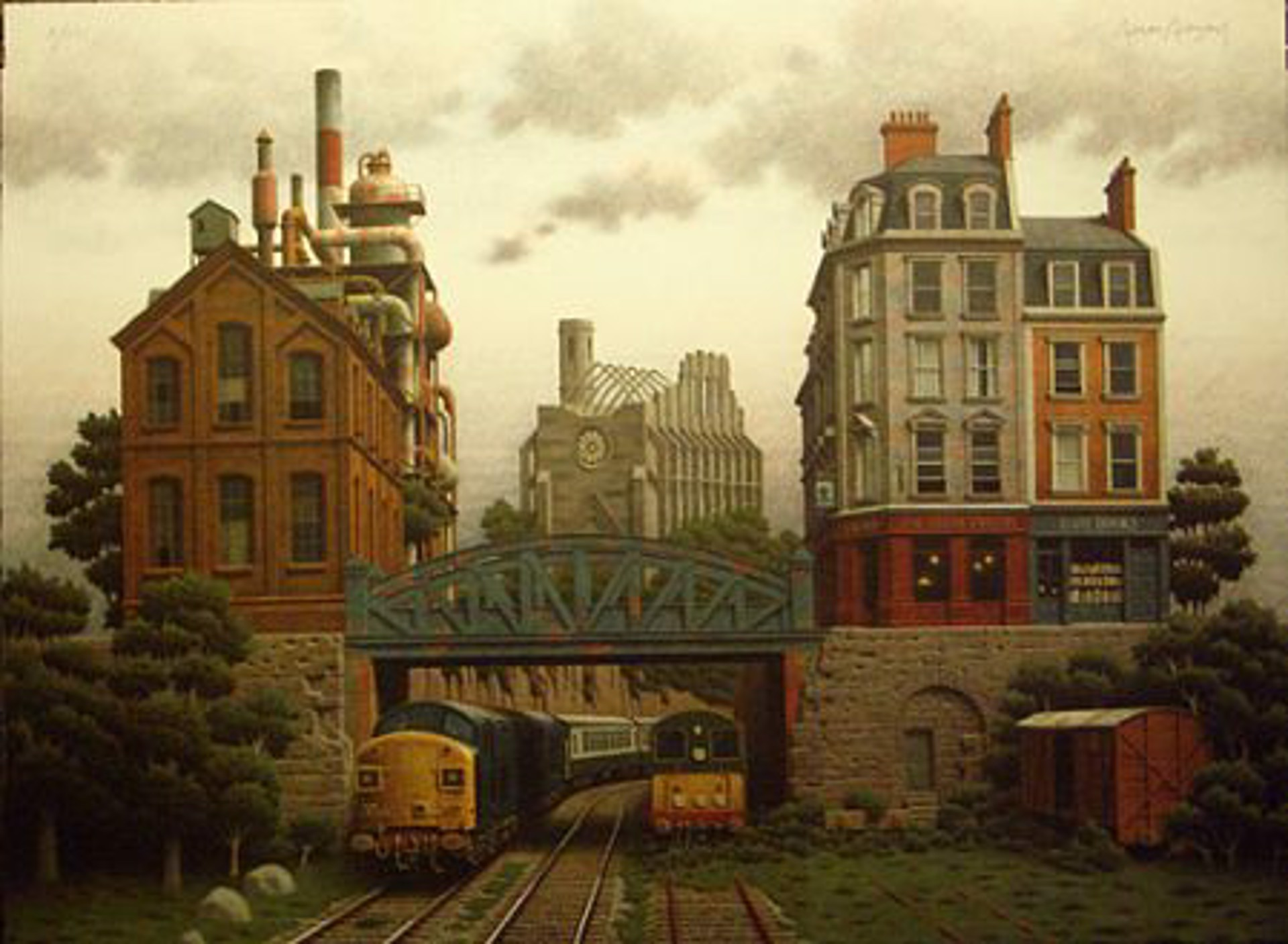Train Tavern by Arnau Alemany