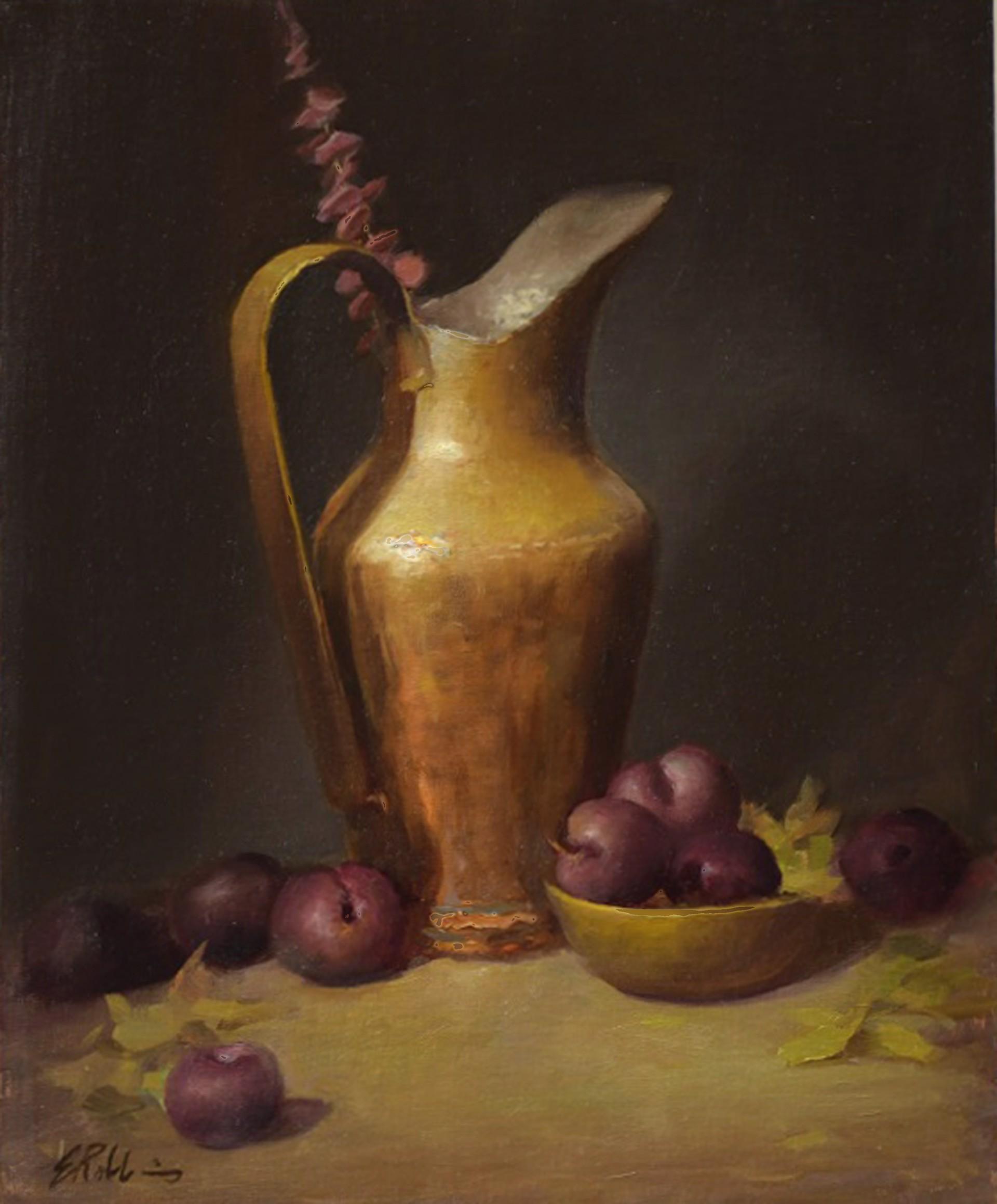 Plums and Copper by Elizabeth Robbins