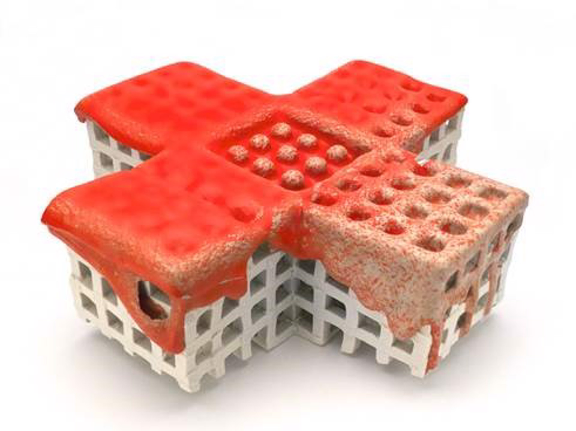 Red Cross by Peter Christian Johnson