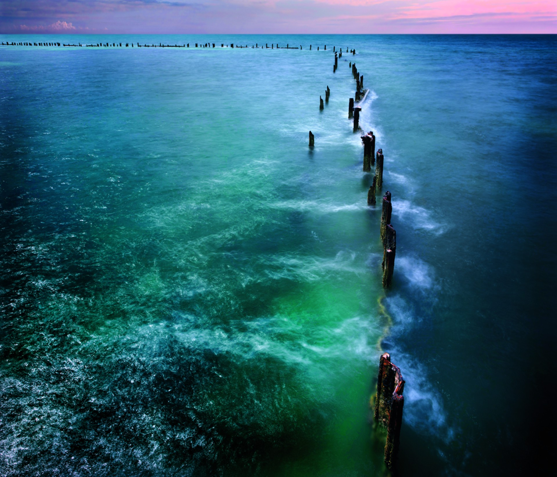 Higgs Pier, Key West, Forida by David Magee