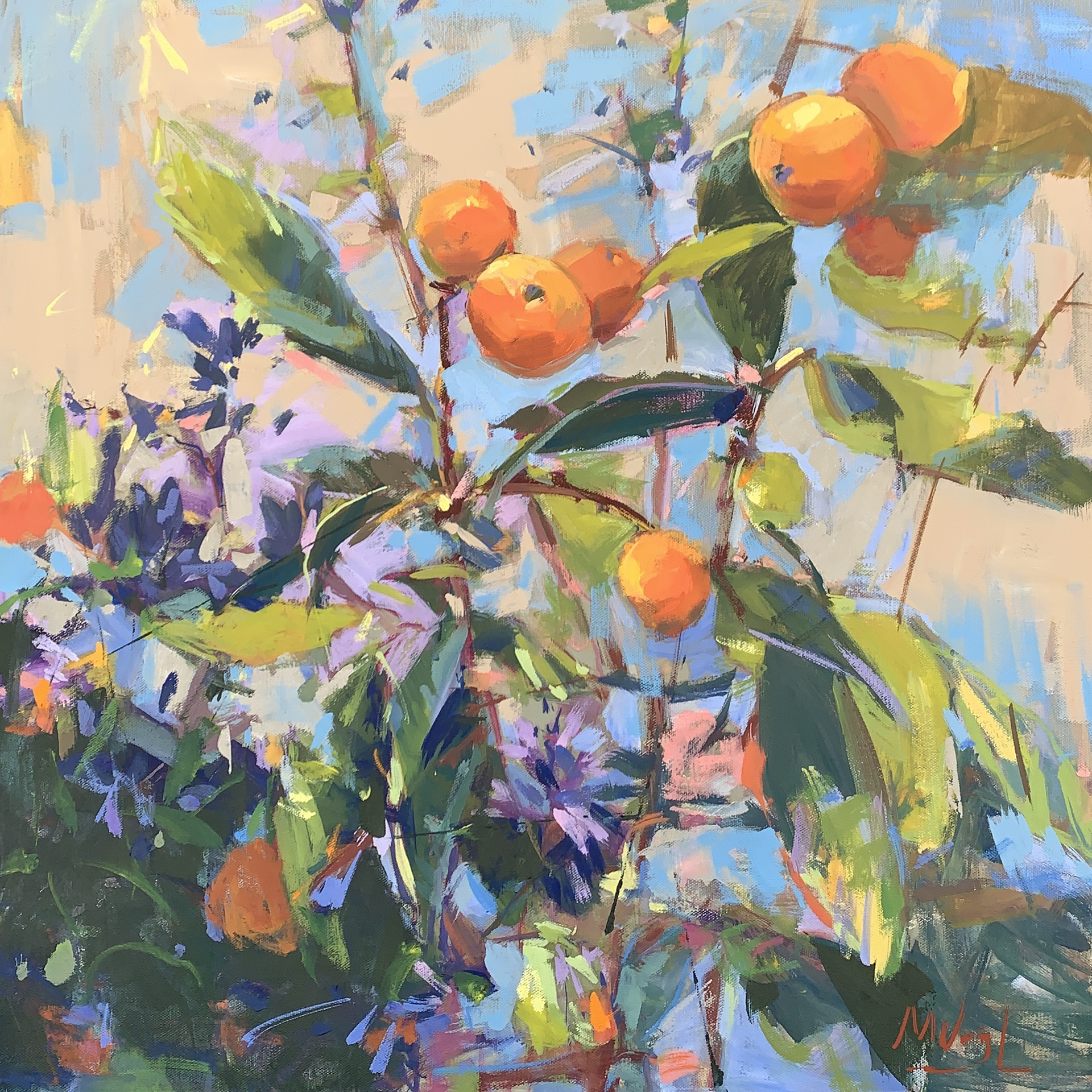 Loquat and Lavender by Marissa Vogl