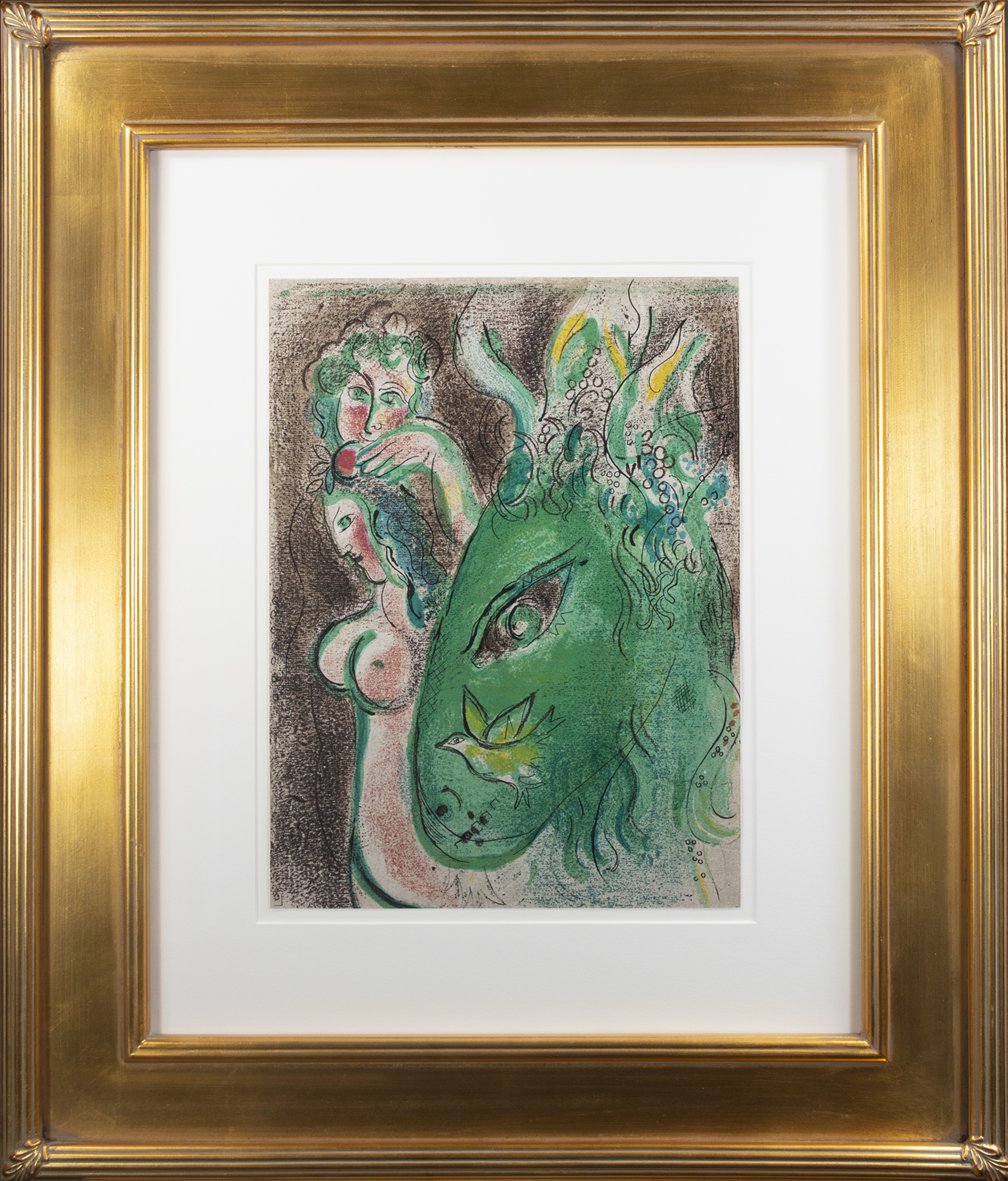 Paradis (Paradise), M 233/256 by Marc Chagall