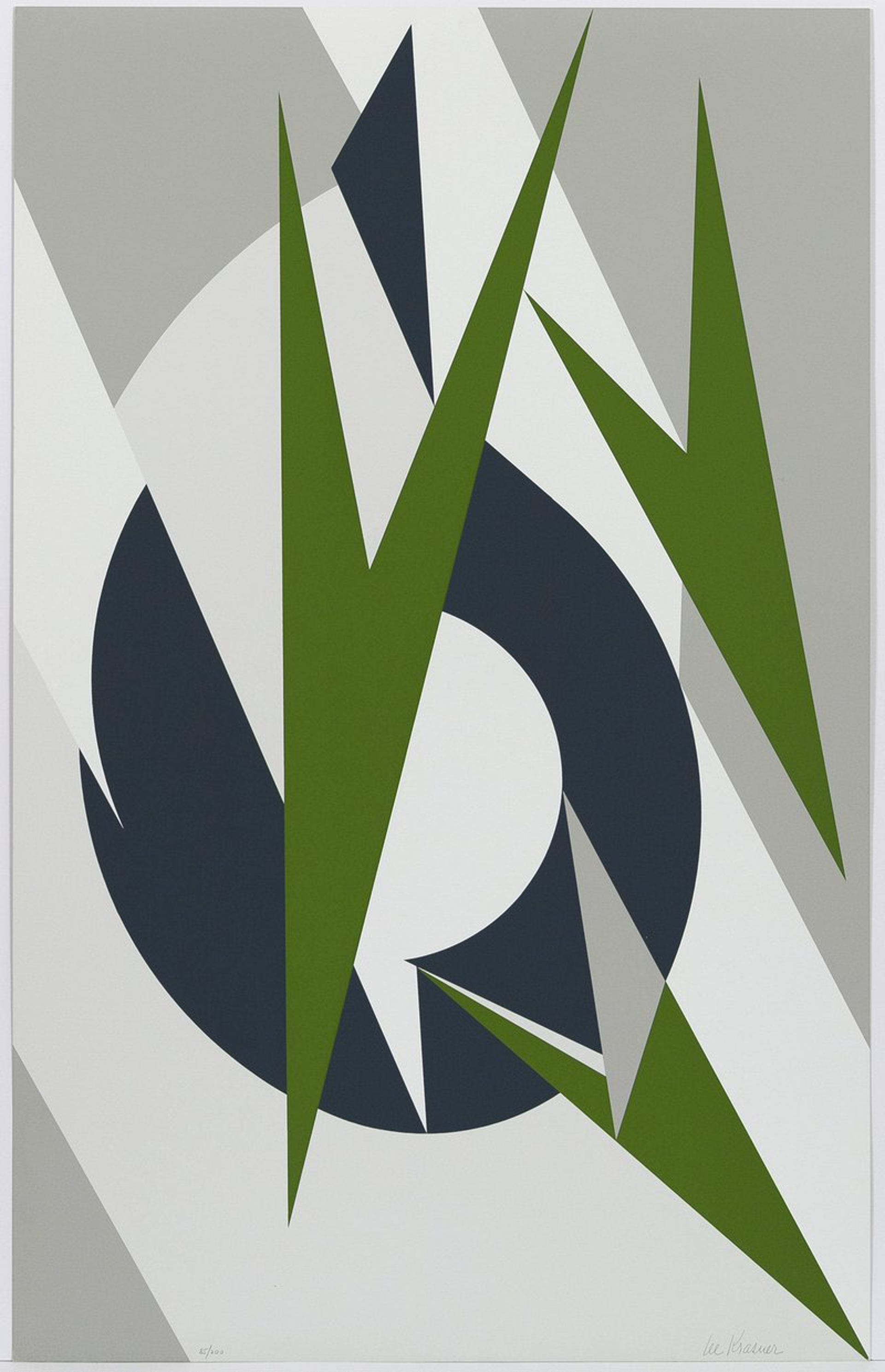 Embrace for the Olympics by Lee Krasner