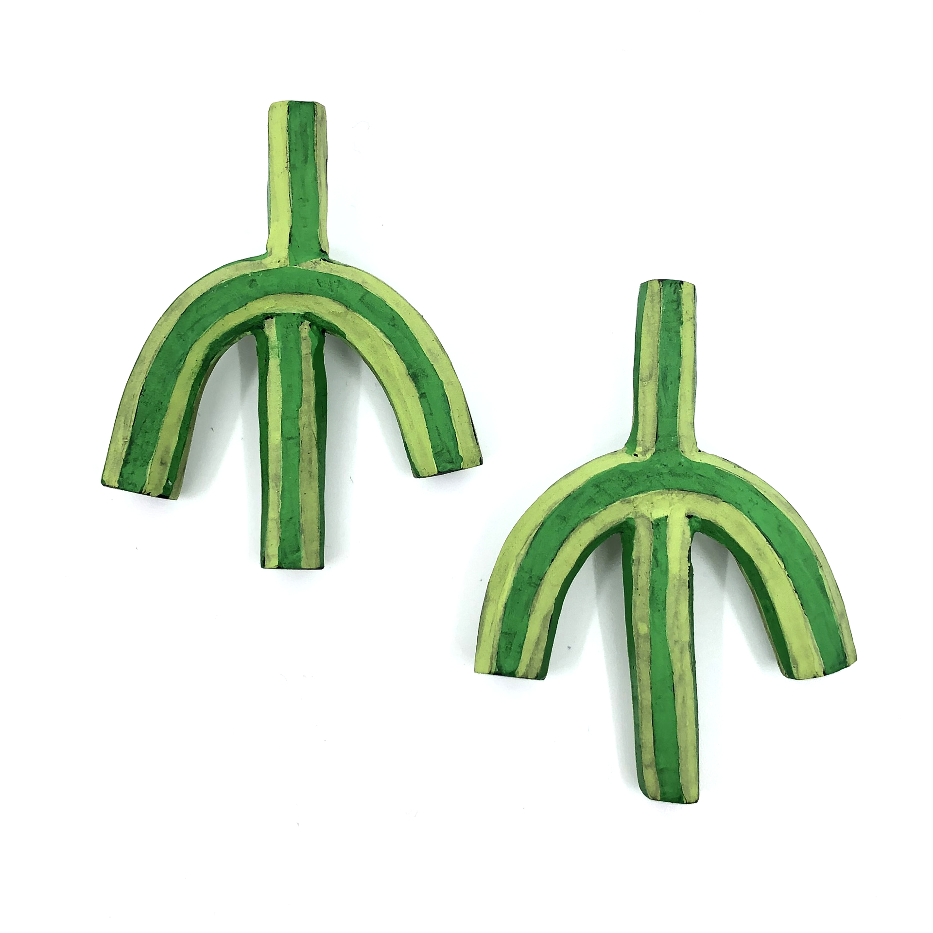 Upside Down Cacti Earrings by Lindsay Locatelli