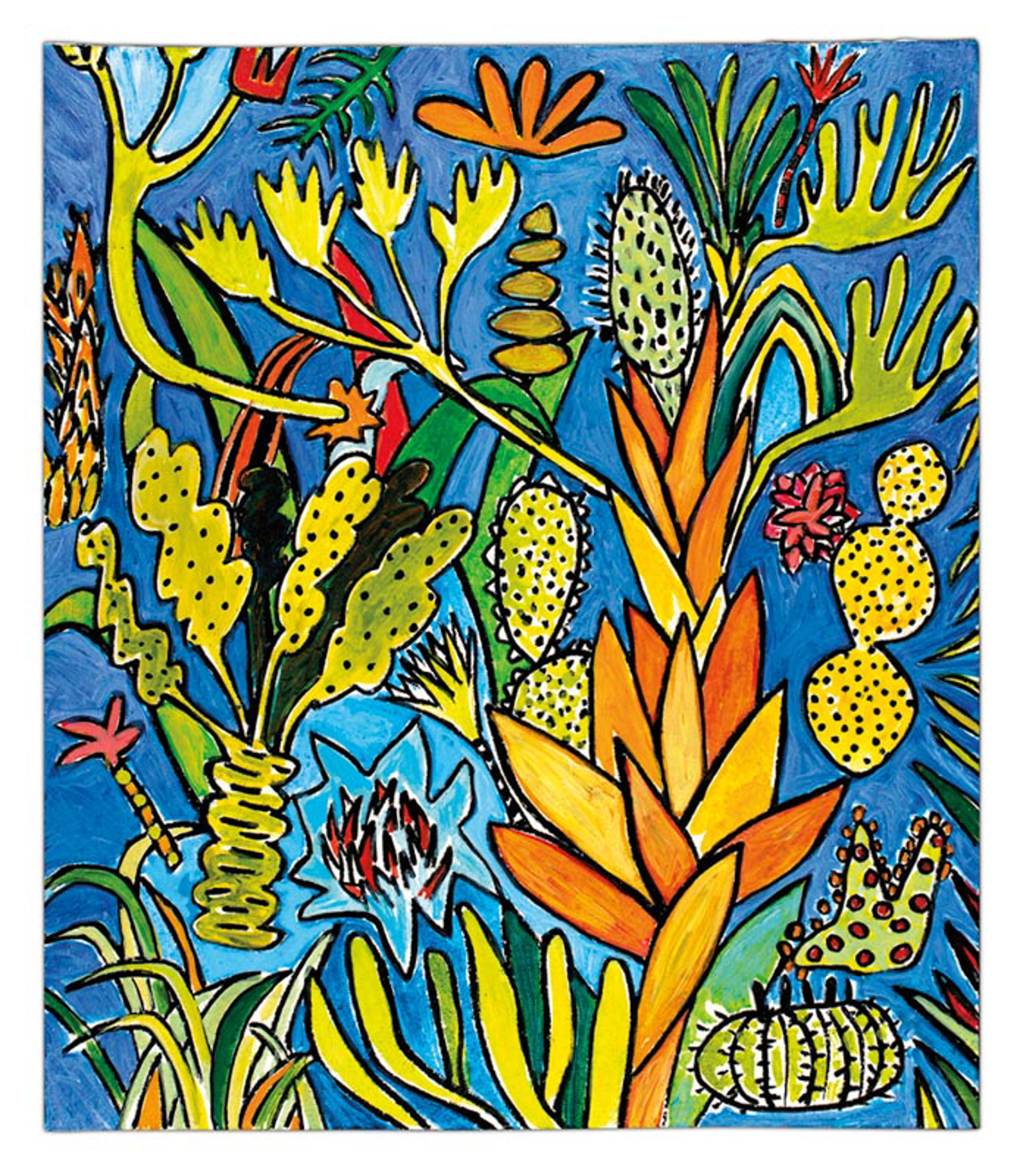 Lotusland 6 by Rebecca Hermann