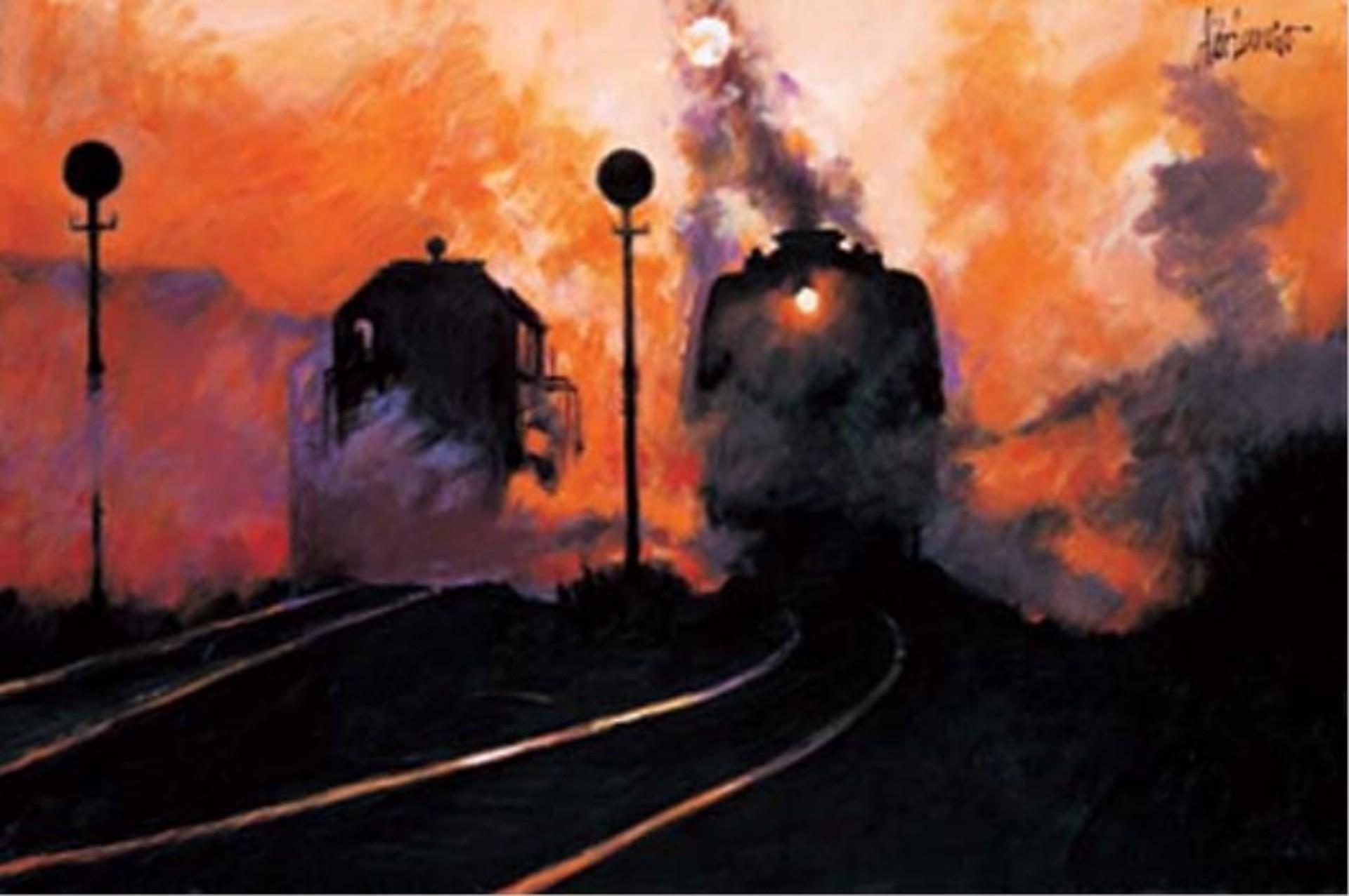 Twilight Tracks by Aldo Luongo