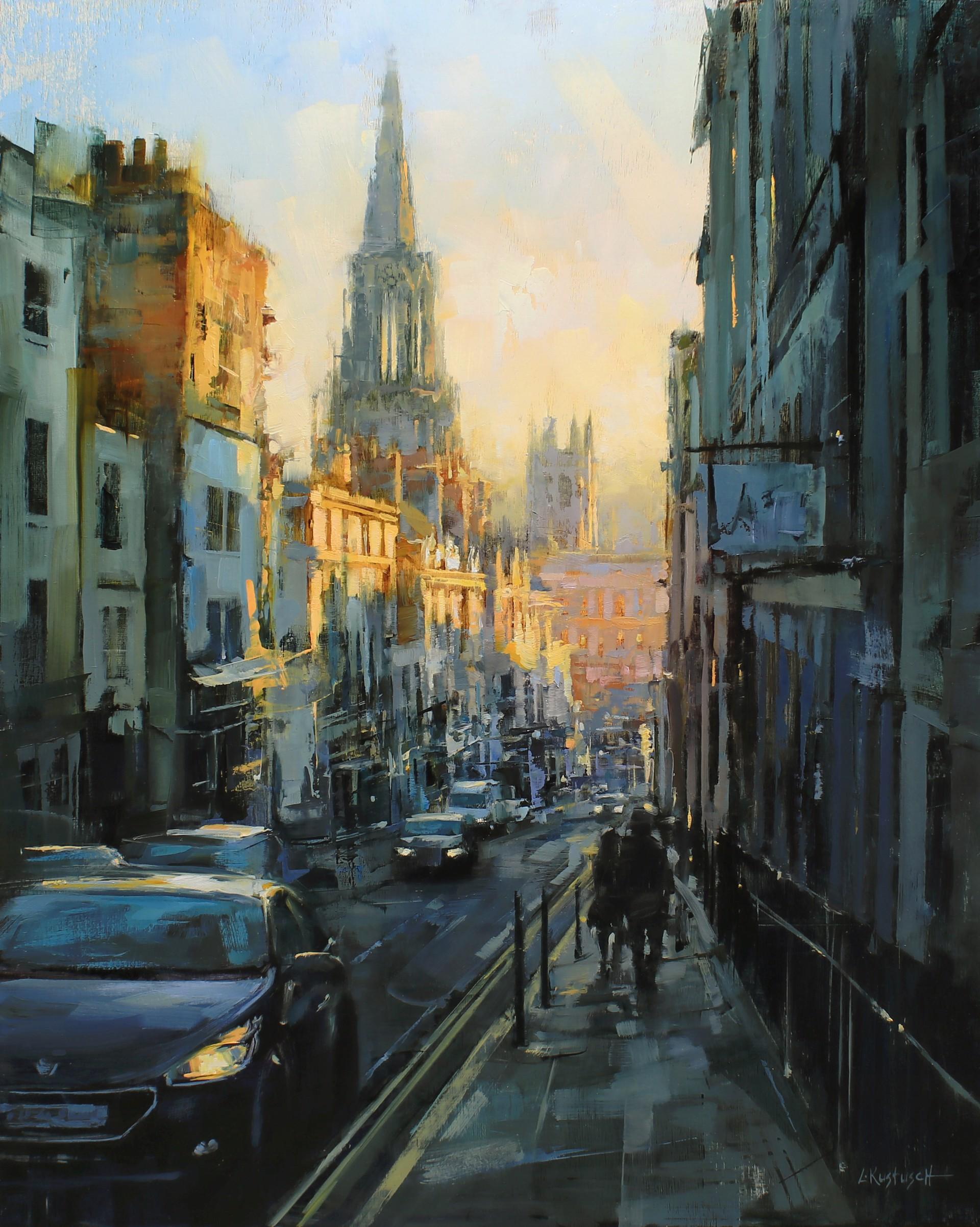 Winter Light in Bath by Lindsey Kustusch