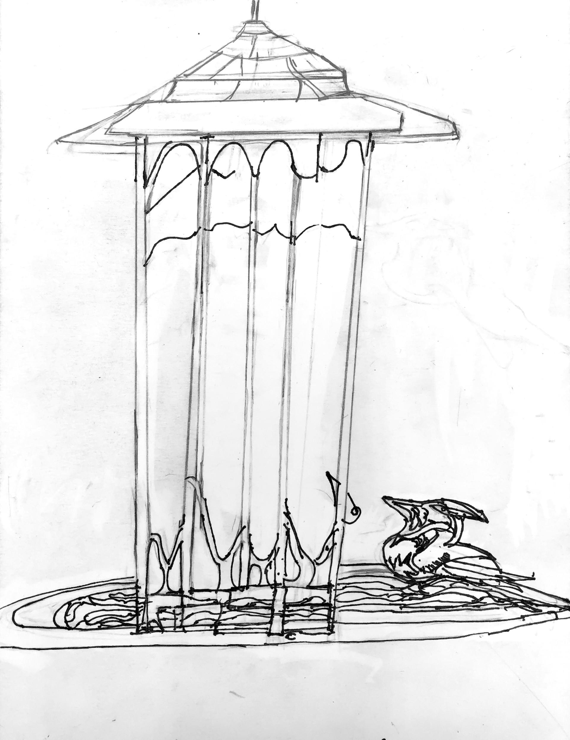 Birdhouse by Raymond Lewis