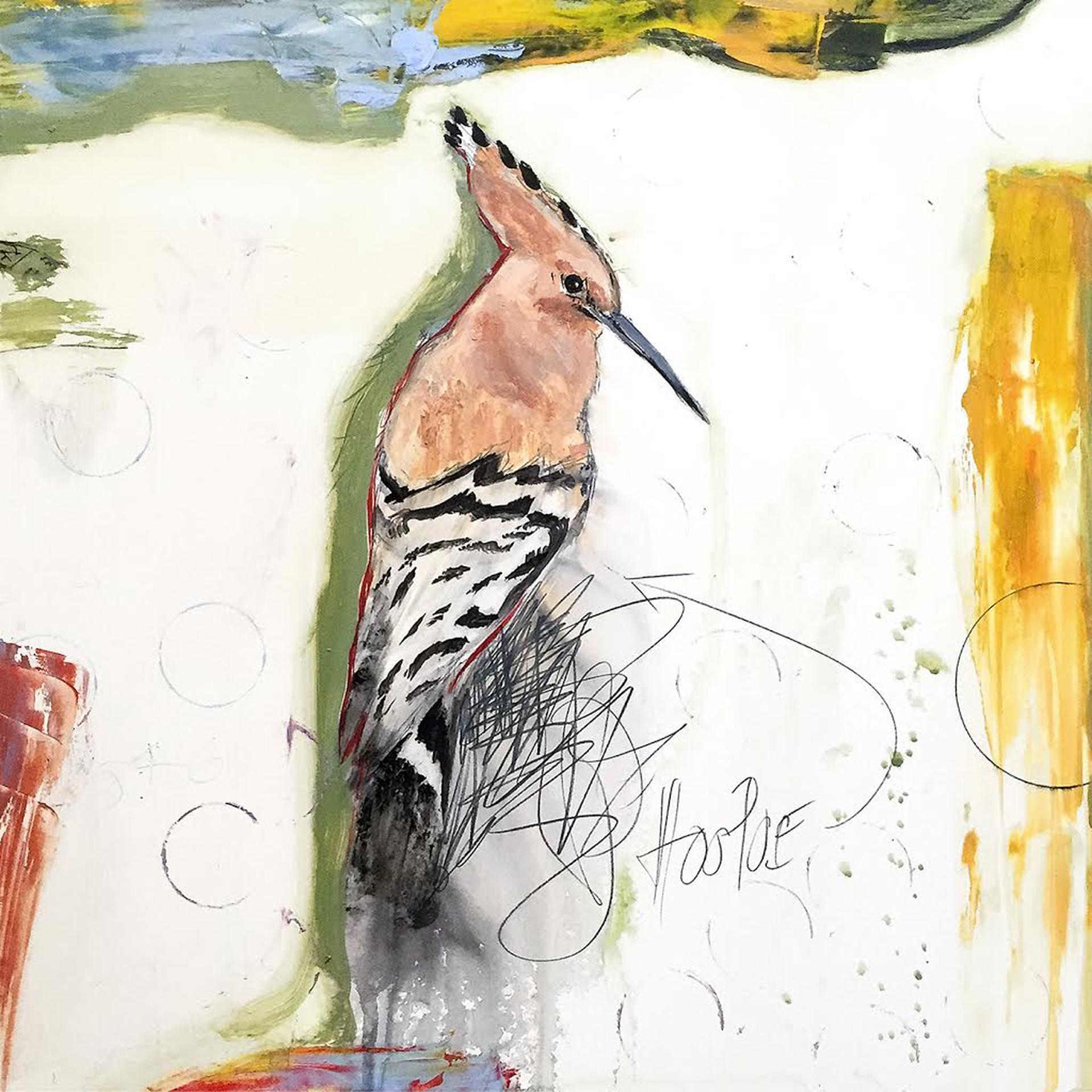 Hoopoe by Michael Dickter