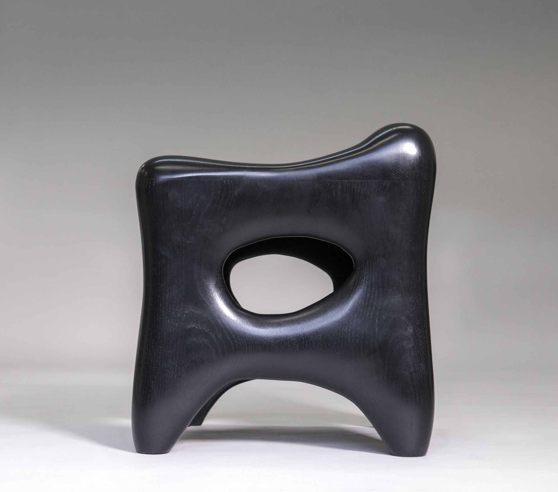 """Osselet"" Large stool   by Jacques Jarrige"