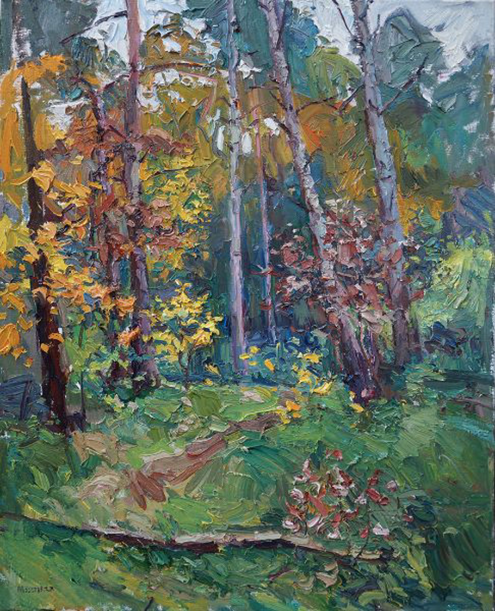 Path in the Forest by Antonin Passemard