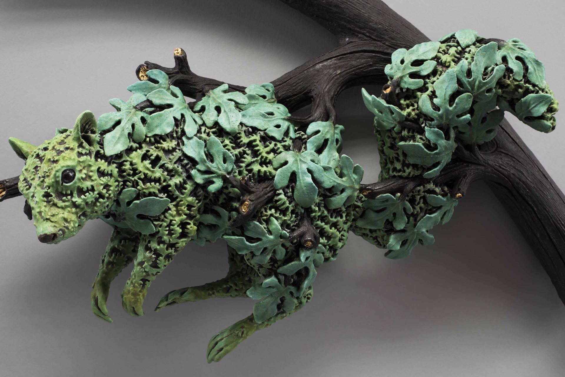 """Broken Branch, Tree of Life, Squirrel"" by Adrian Arleo"