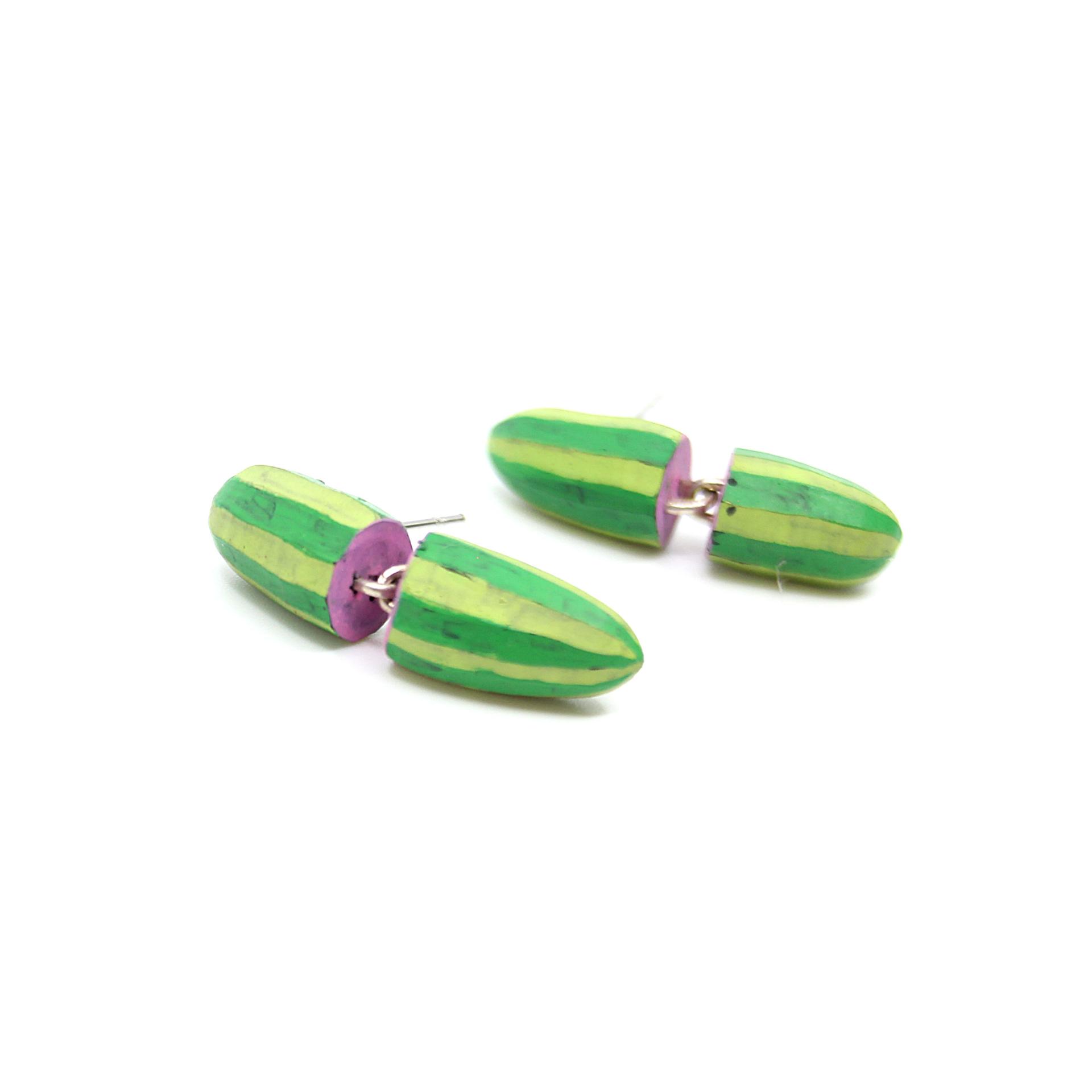 Mini Cacti Earrings by Lindsay Locatelli