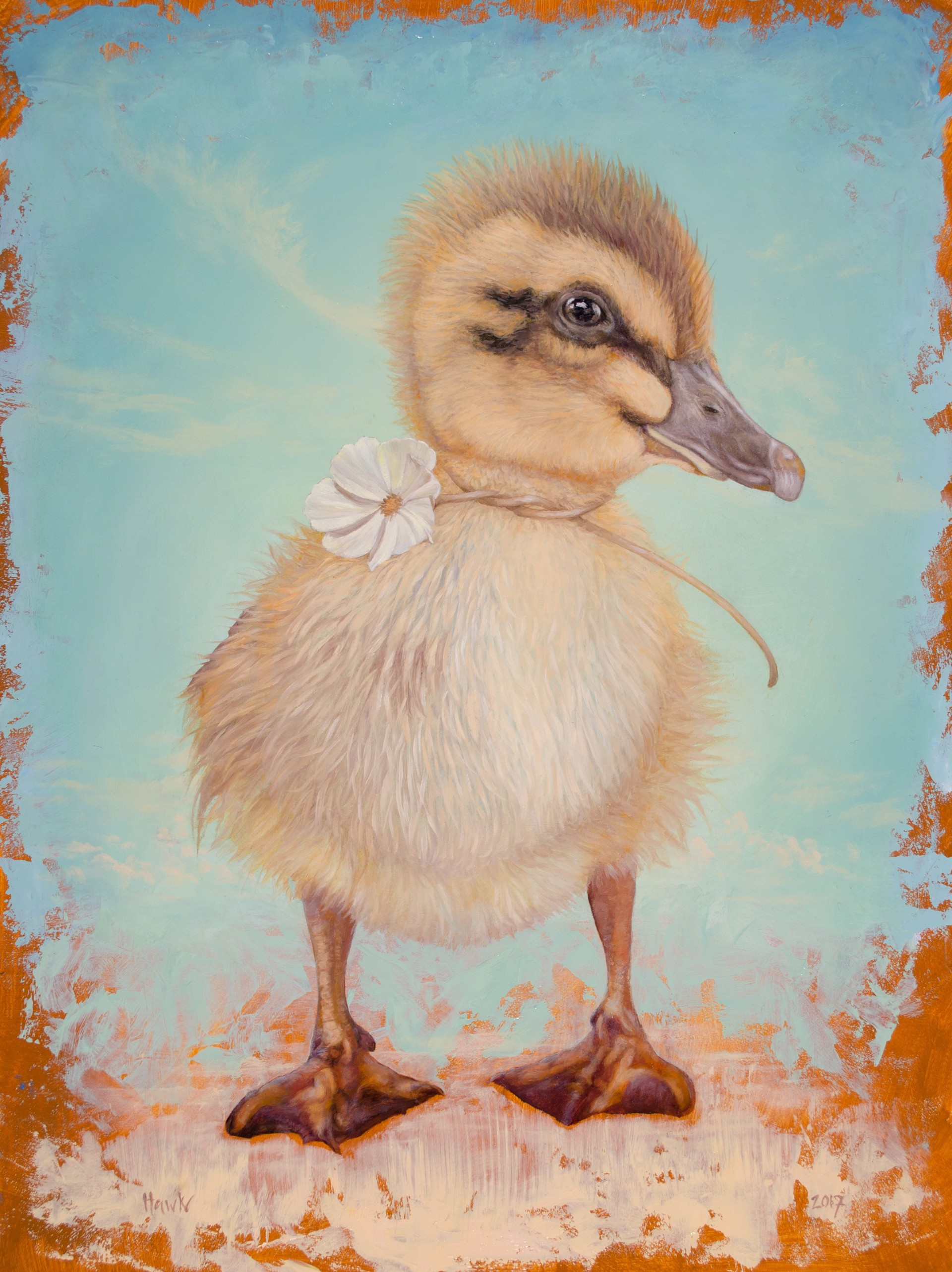 The Children's Hospital Duckling commission by Dana Hawk