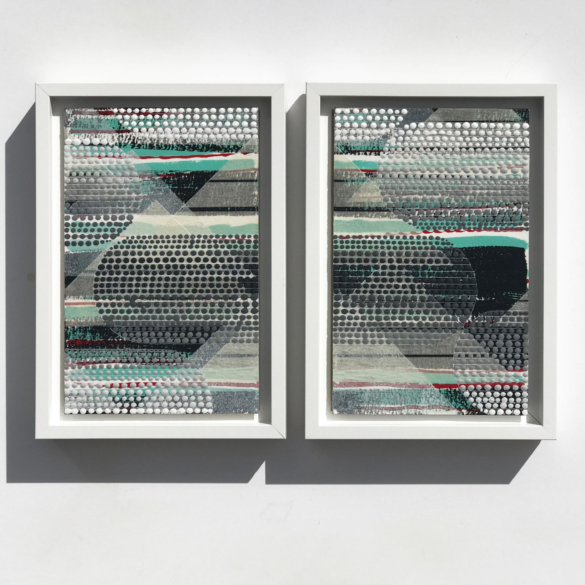Transparency 1 & 2, Diamonds by Nina Tichava