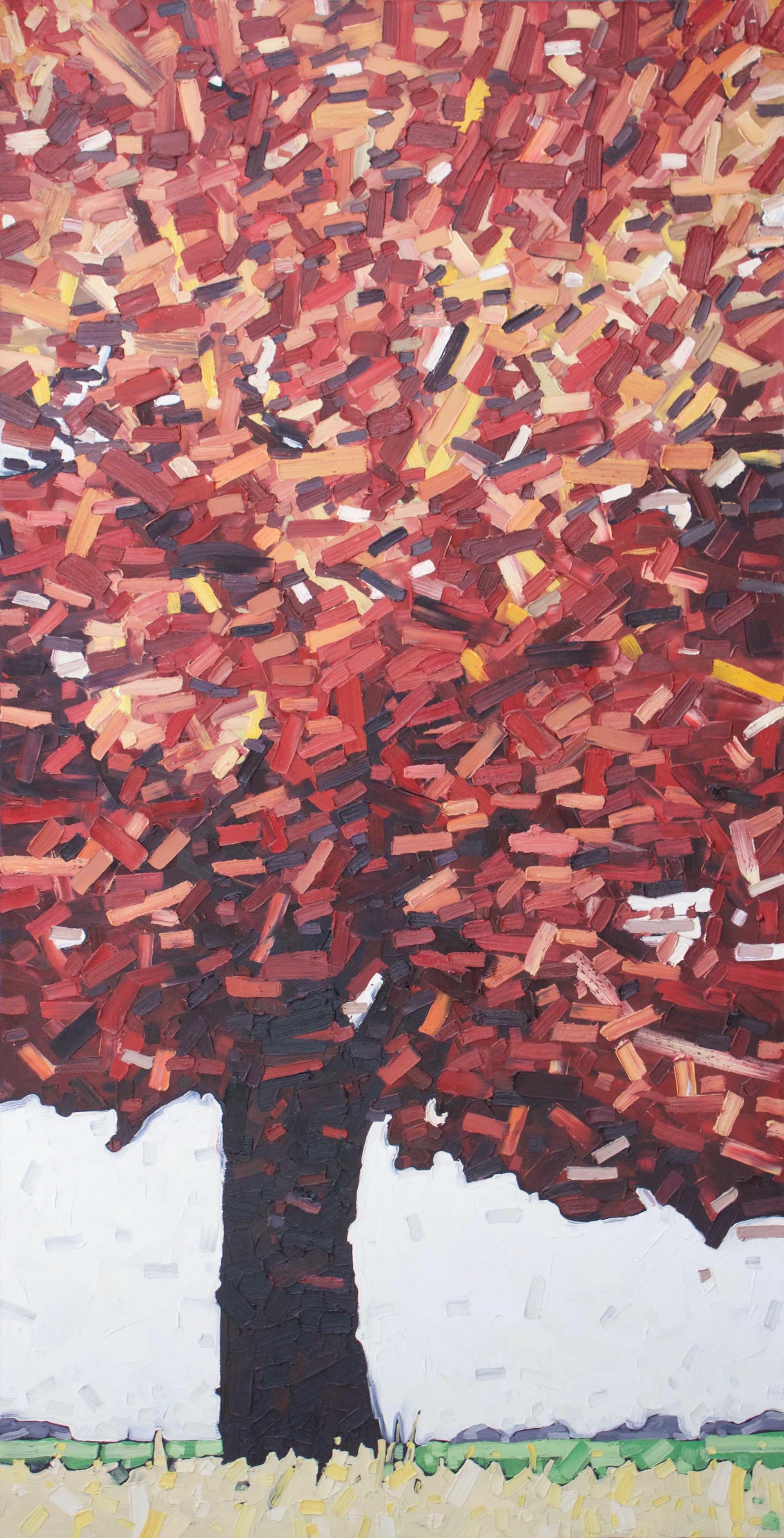 Fire Tree by David Grieve